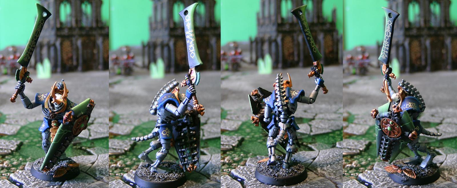 Lychguard, Lychguards, Necrons, Newcrons, Ouze, Warhammer 40,000