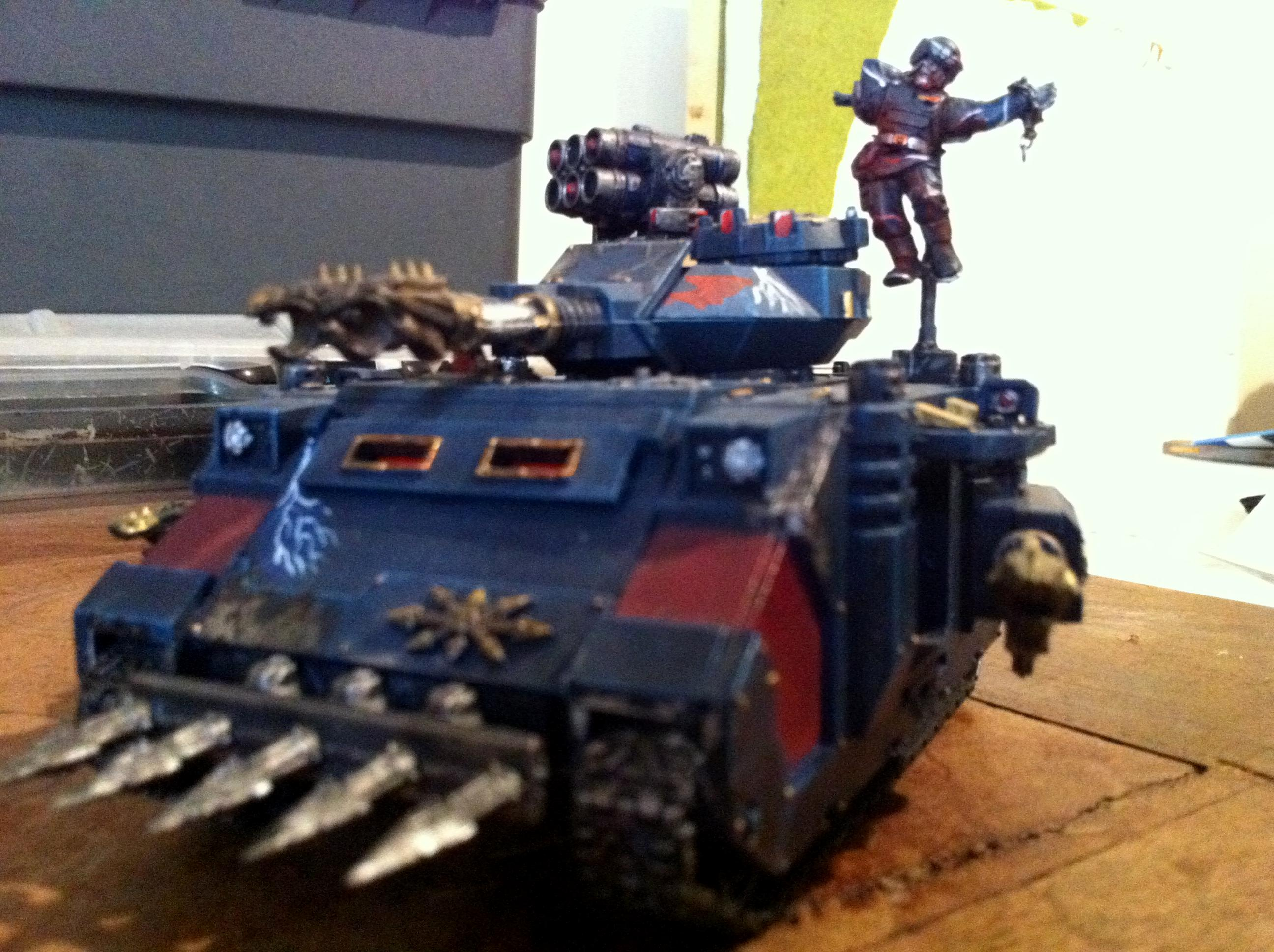 Chaos Space Marines, Guard Abuse, Predator, Warhammer 40,000