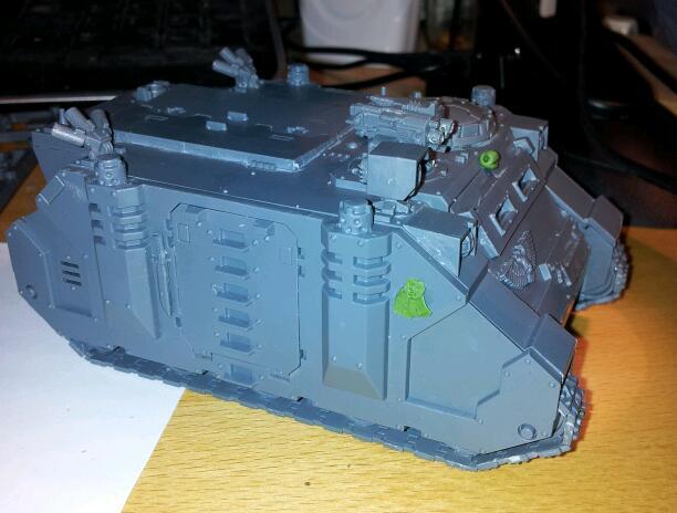 Rhino, Skull, Space Marines, Work In Progress