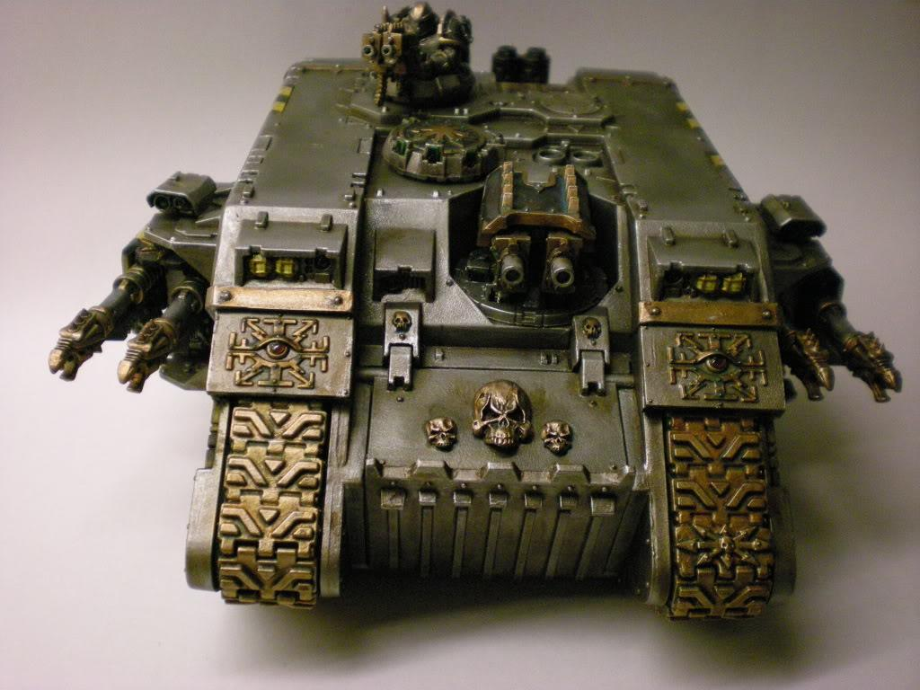 Chaos, Iron Warriors, Land Raider