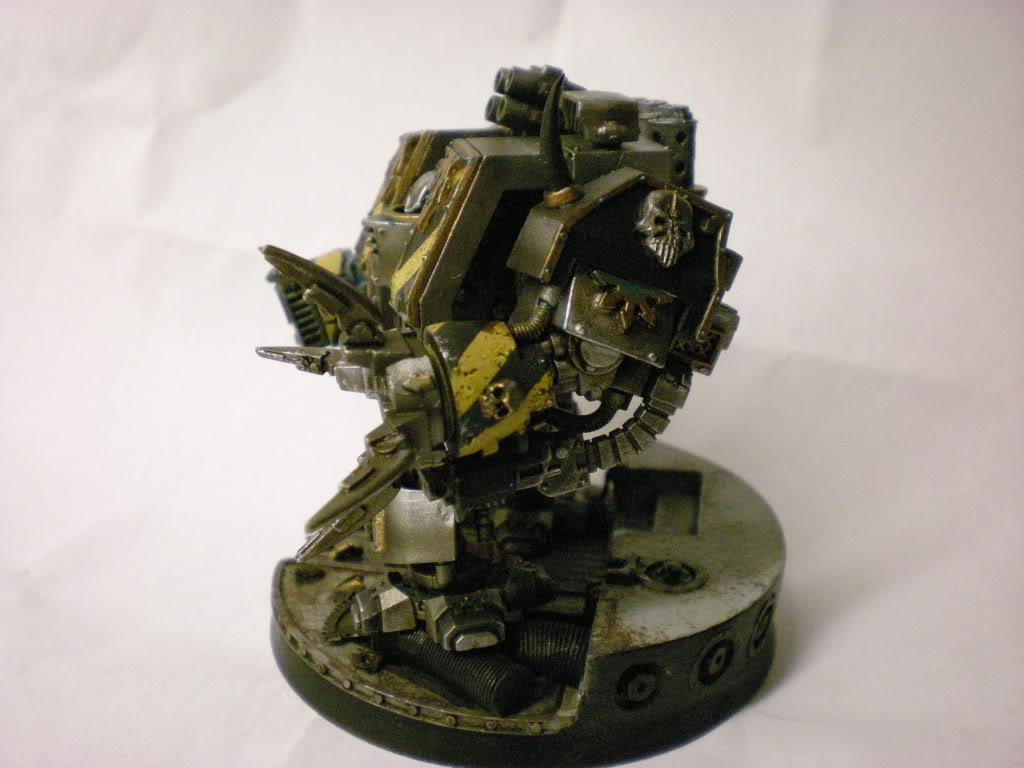 Chaos Dreadnought, Chaos Space Marines, Dreadnought, Iron Warriors