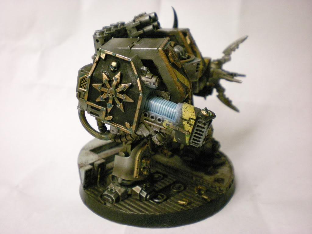 Chaos Dreadnought, Chaos Space Marines, Dreadnought, Iron Warriors
