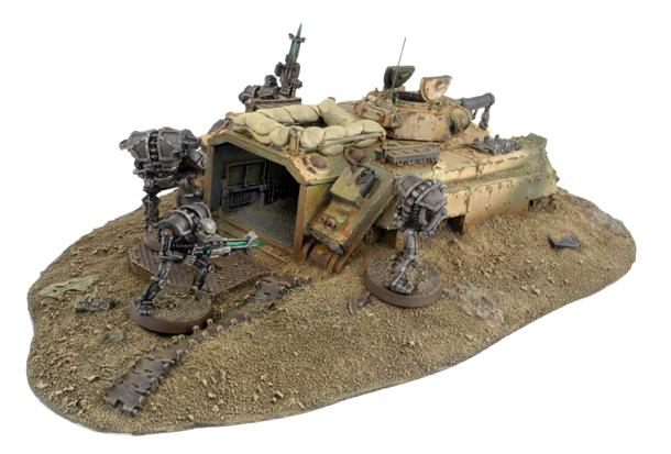 2nd Edition, Chimera, Forge World, Imperial Guard, Necrons, Out Of Production, Tank, Terrain, Wreck