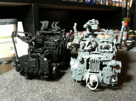 Ork Trukk, Orks, Vehicle Mods