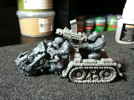 Ork Wartrakk, Orks, Vehicle Mods