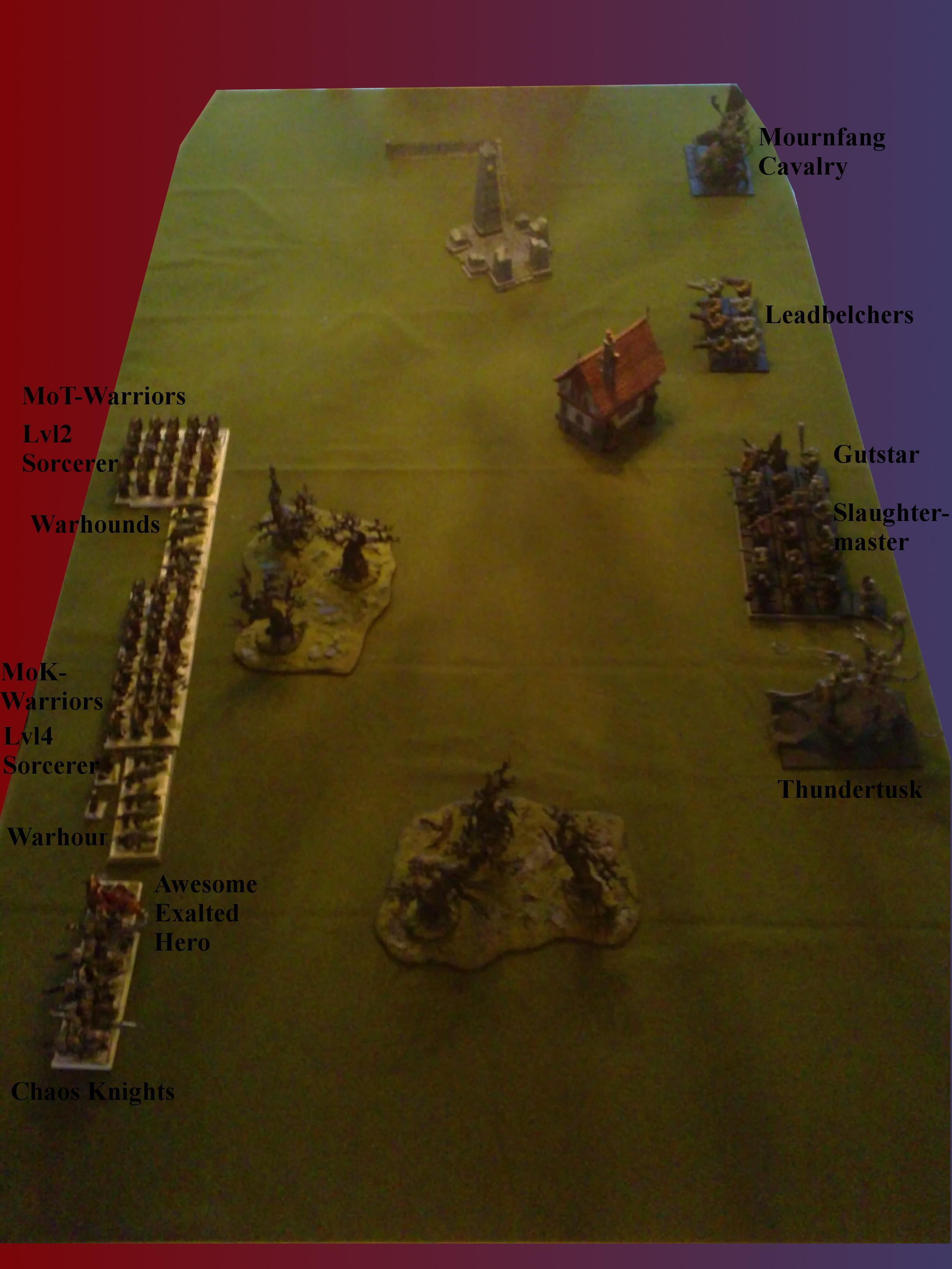 2000 Points, Battle Report, Ogre Kingdoms, Ok, Warriors Of Chaos, Woc