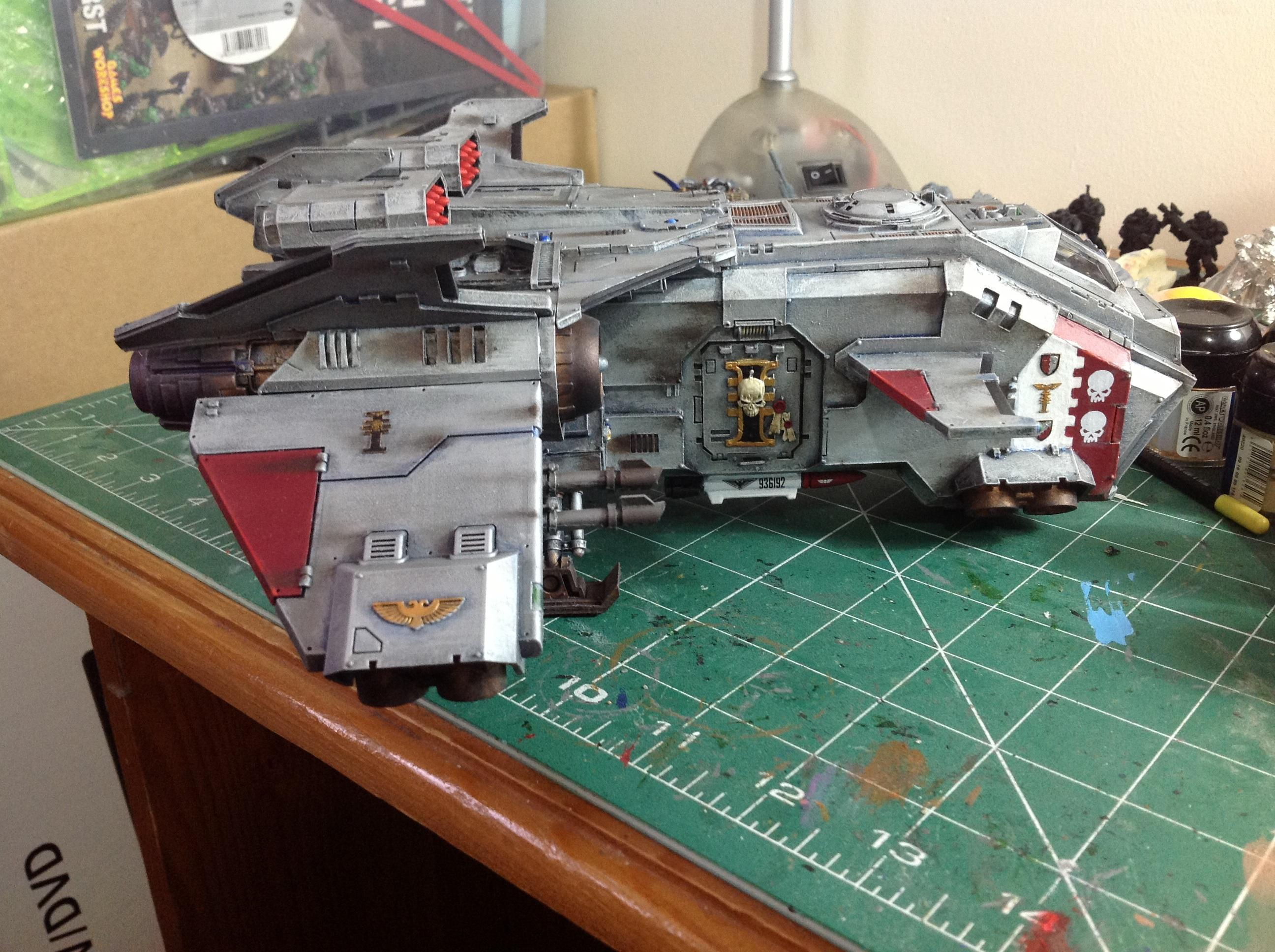 Aircraft, Flyer, Forge World, Gk, Grey Knights, Space Marines, Storm Eagle, Stormeagle, Warhammer 40,000