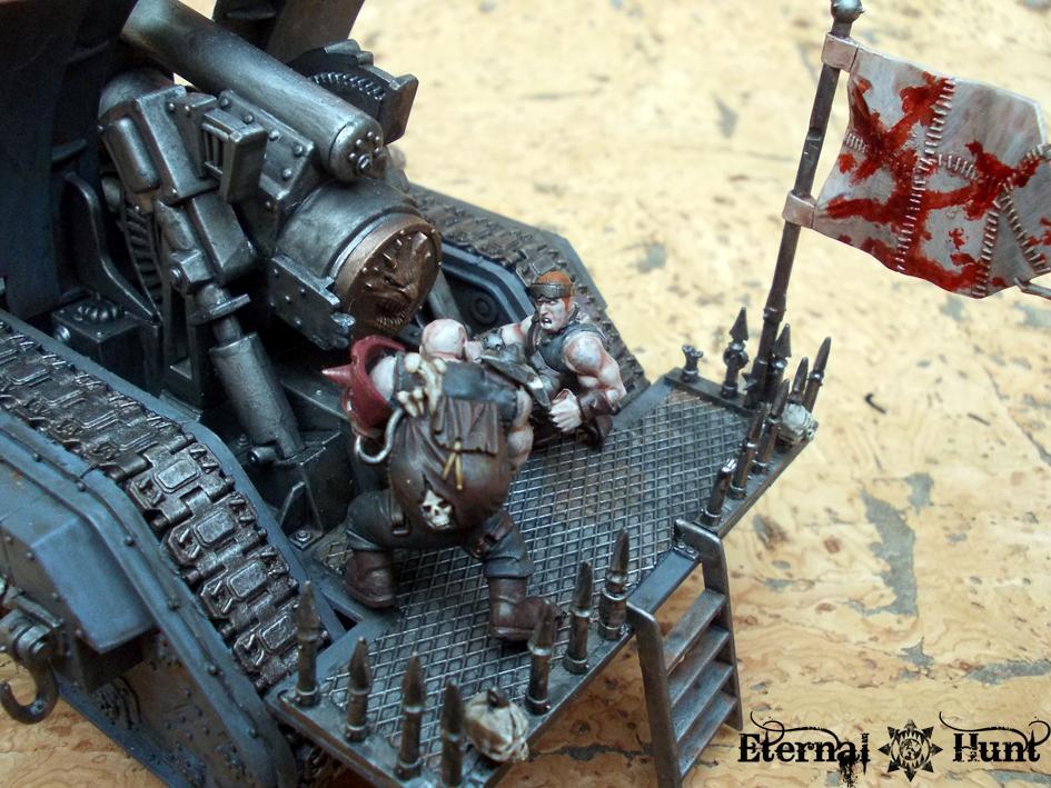 Basilisk, Chaos, Conversion, Marauders, Renegade Militia, Tank, Traitor Guard, Traitor Ig, Warhammer 40,000