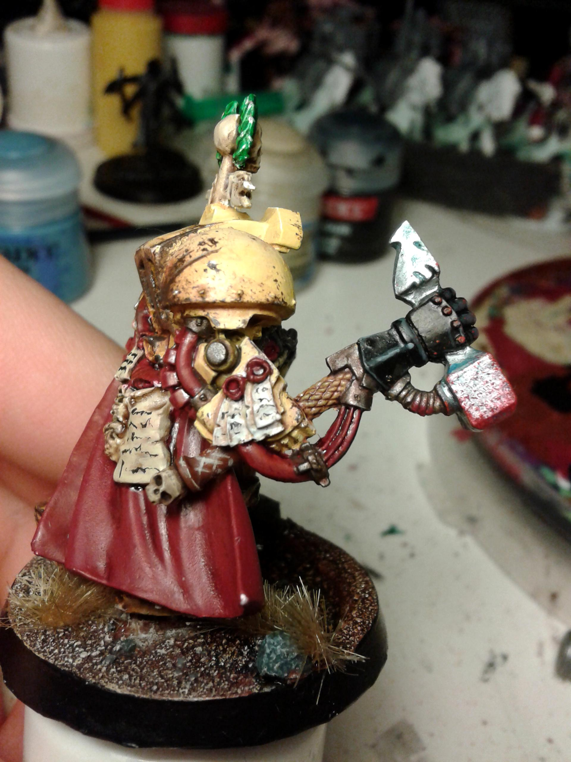 Captain Darnath Lysander, Imperial Fists, Space Marines, Warhammer 40,000