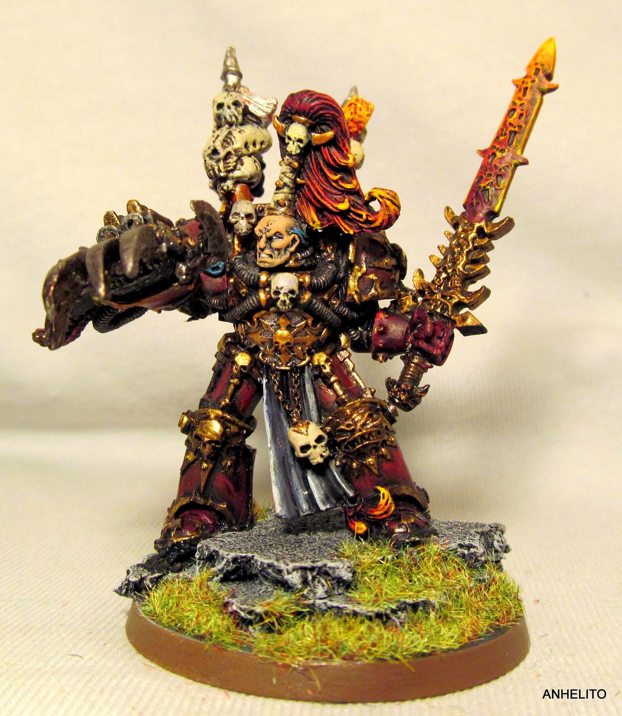 Abaddon The Despoiler, Chaos Space Marines