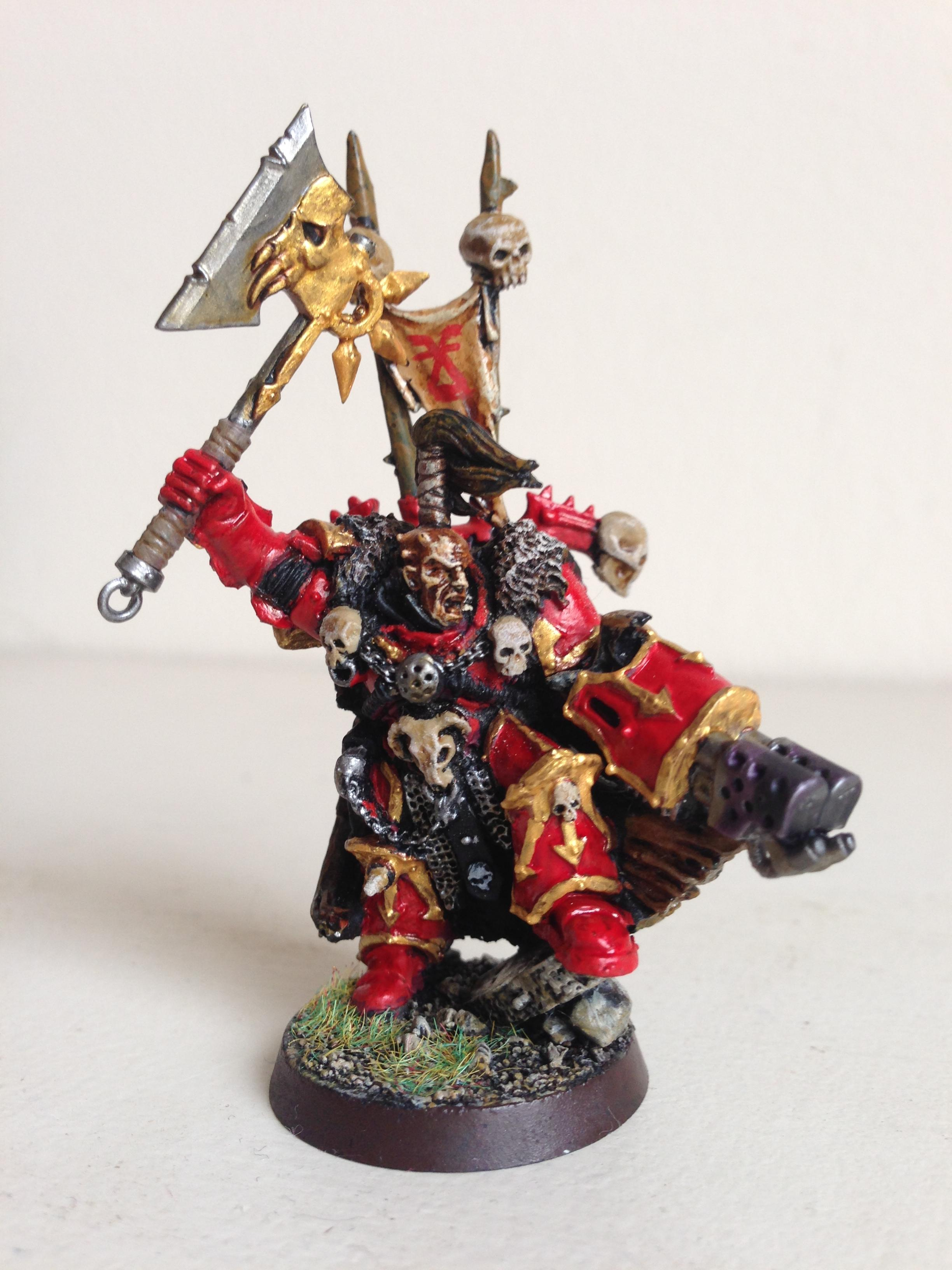 Chaos, Conversion, Khorne, Lord, World Eaters