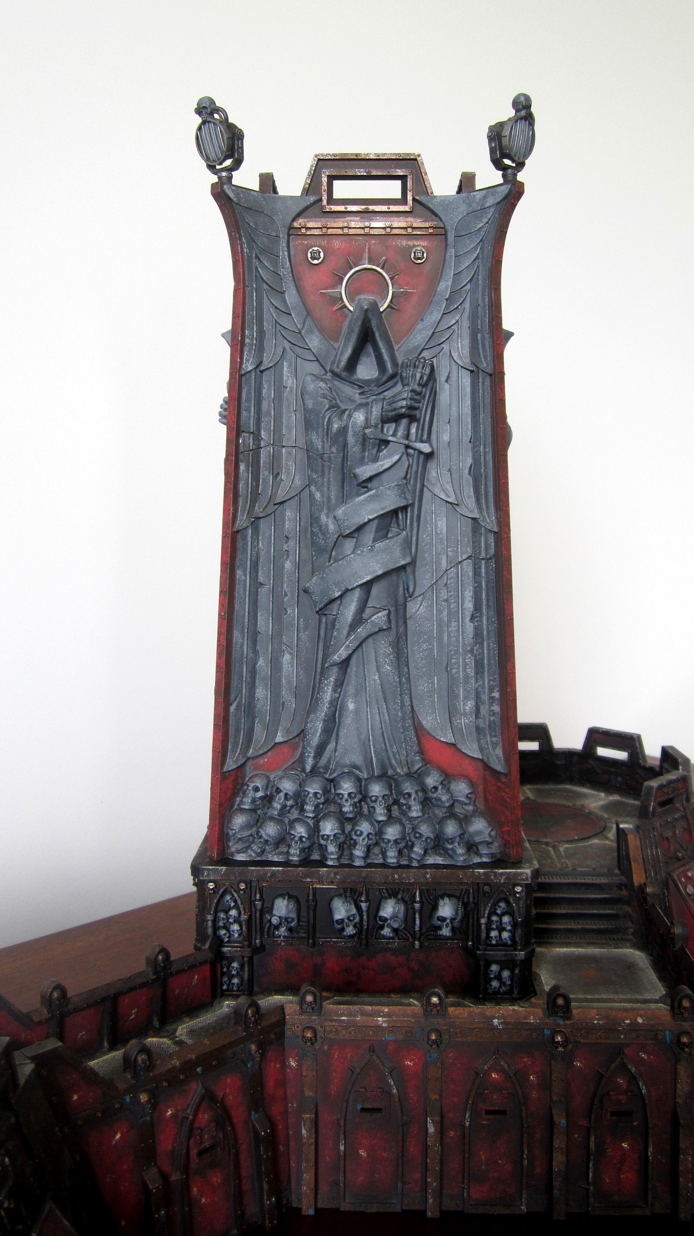 Dark Angels, Fortress Of Redemption, Terrain, Weathered