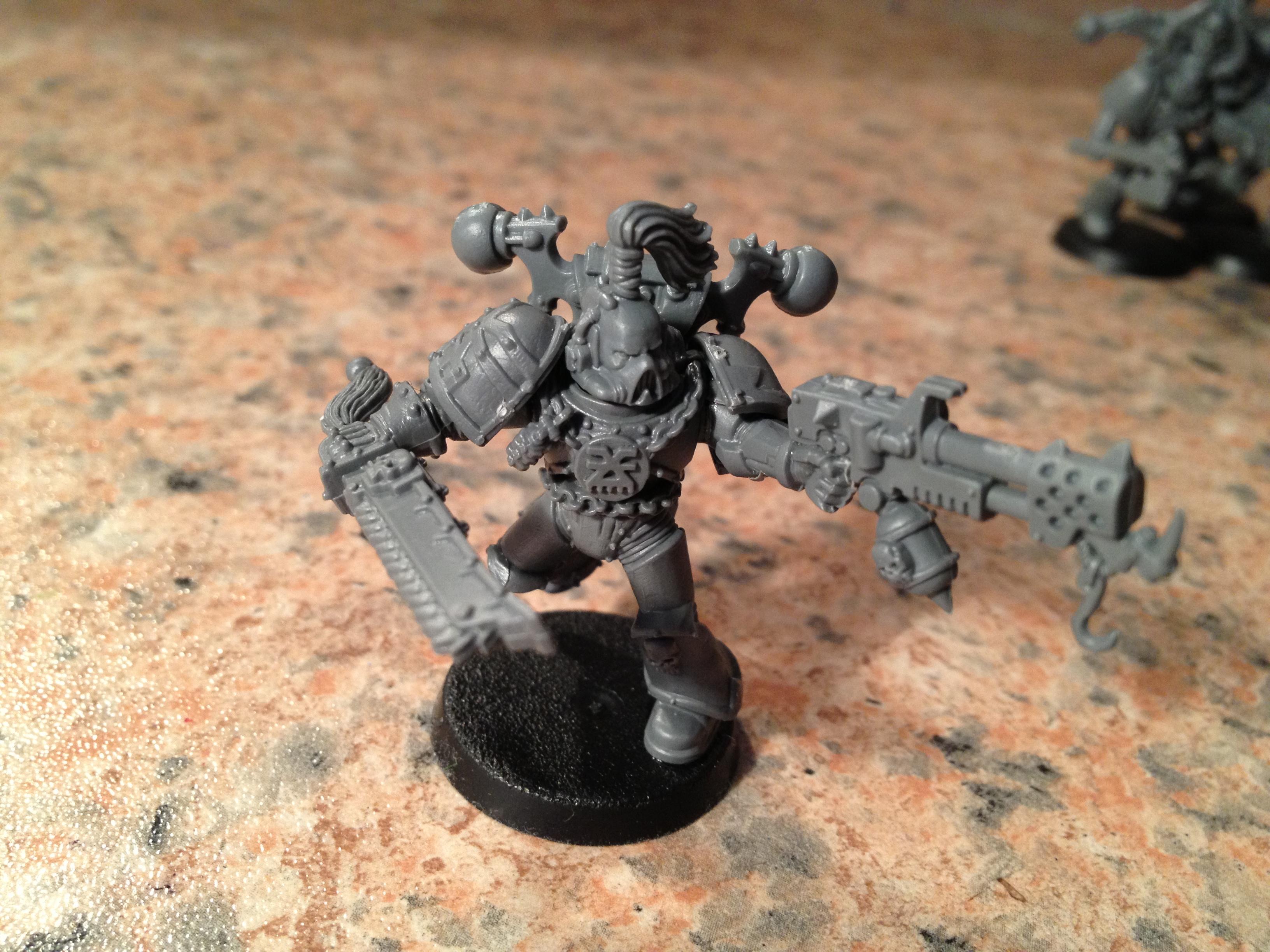 Black Legion, Chaos Space Marines, Flamer, Khorne, Work In Progress, World Eaters