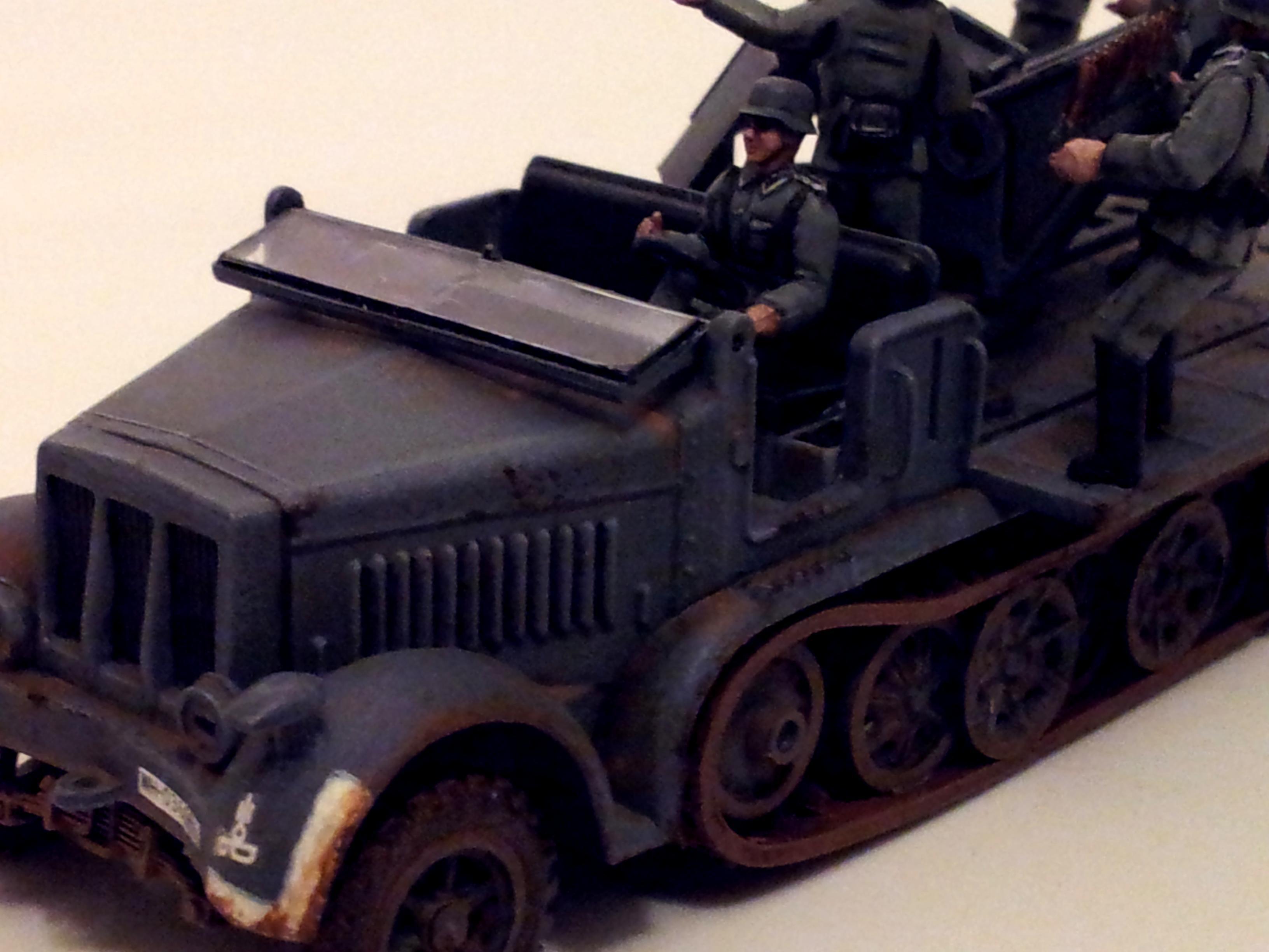 1/72, 1:72, Germans, Sdkfz 7, World War 2