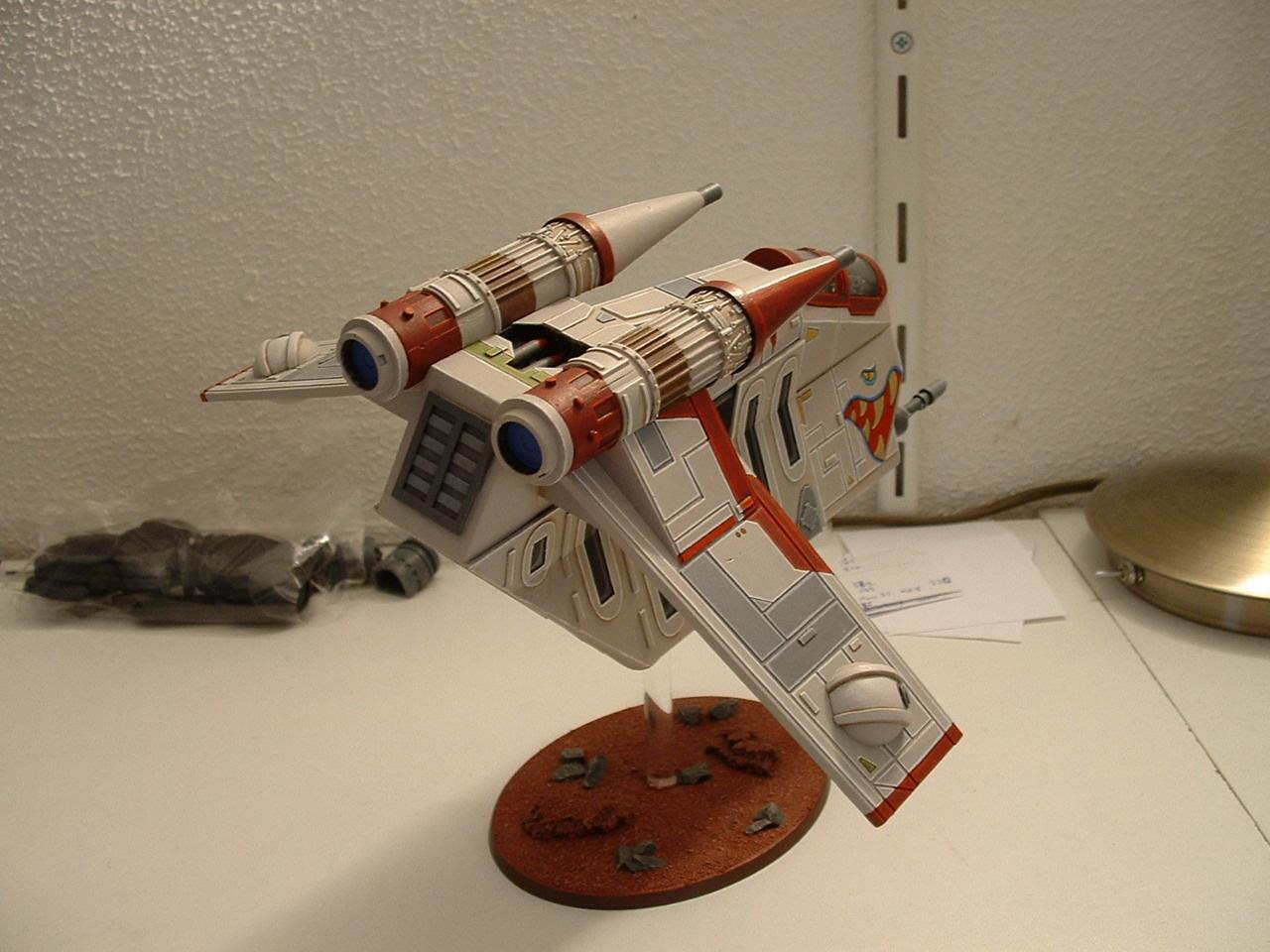 Clone Wars, Gunship, Scratch Build, Star Wars, Valkyrie