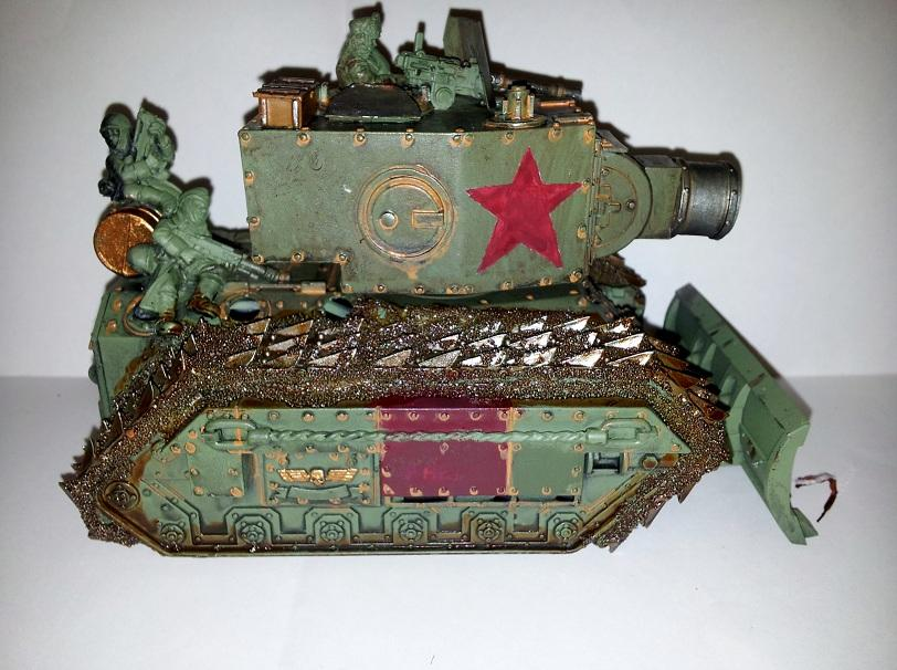 Conversion, Leman Russ, Russians, Tank, Valhallans