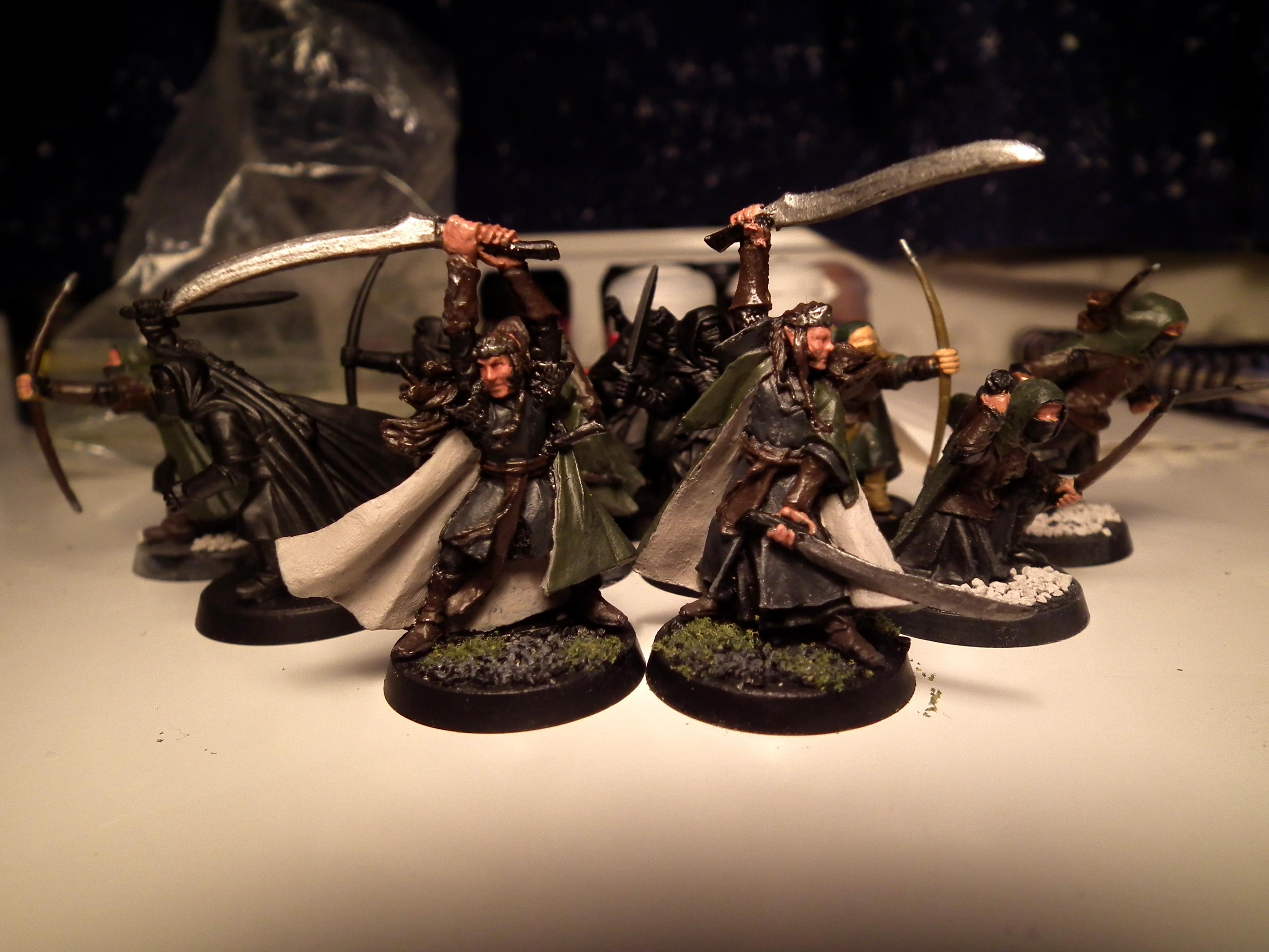 Arnor, Elladan, Elrohir, Elves, Lord Of The Rings, Rangers