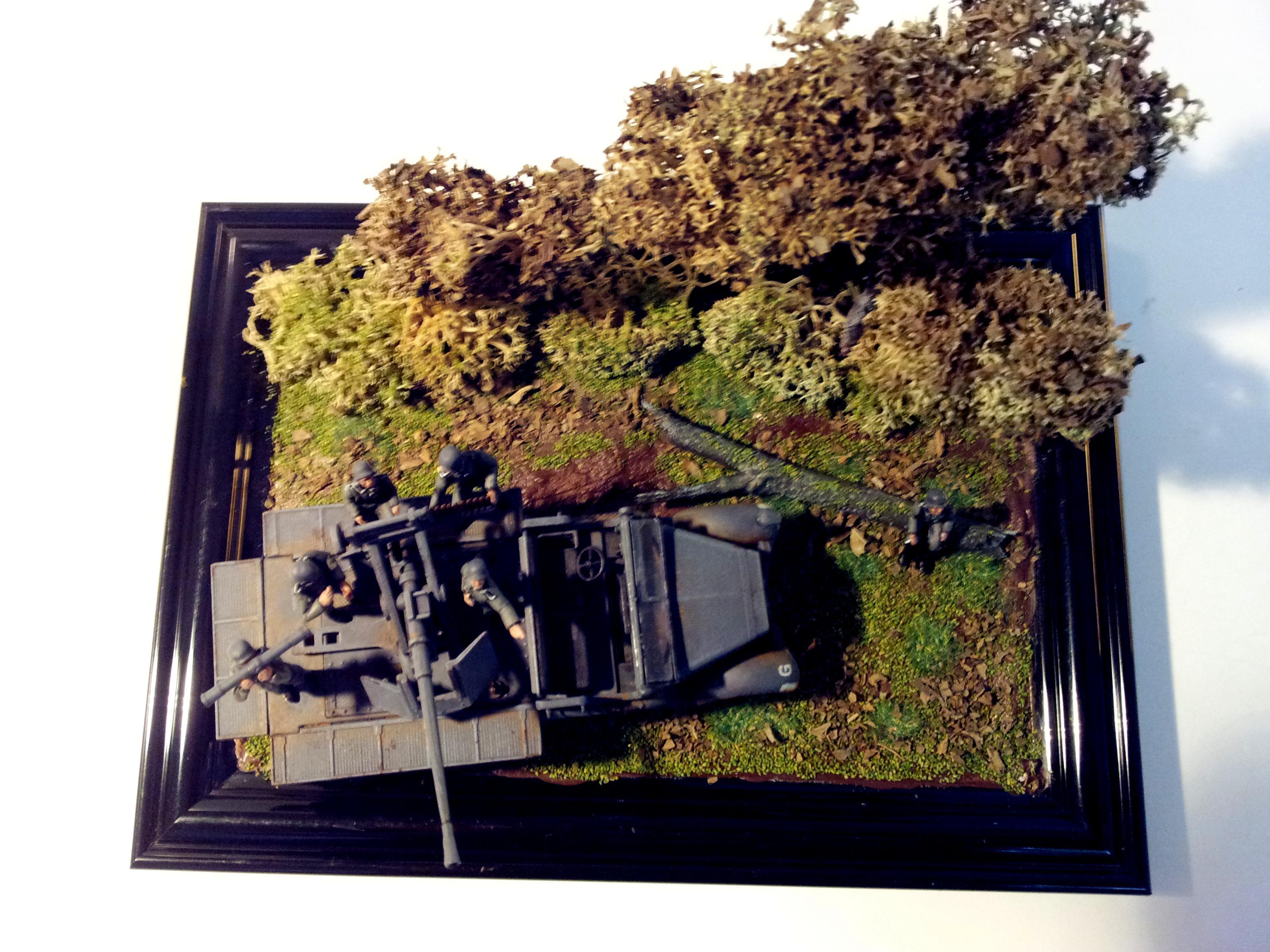 1/72, 1:72, Diorama, Germans, Sdkfz 7, World War 2