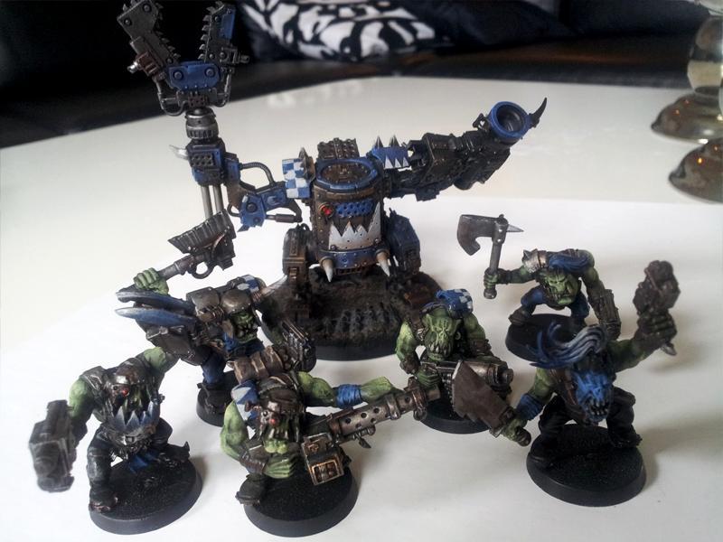 Deathskulls, Killa Kan, Orks, Spaceorks, Waaagh