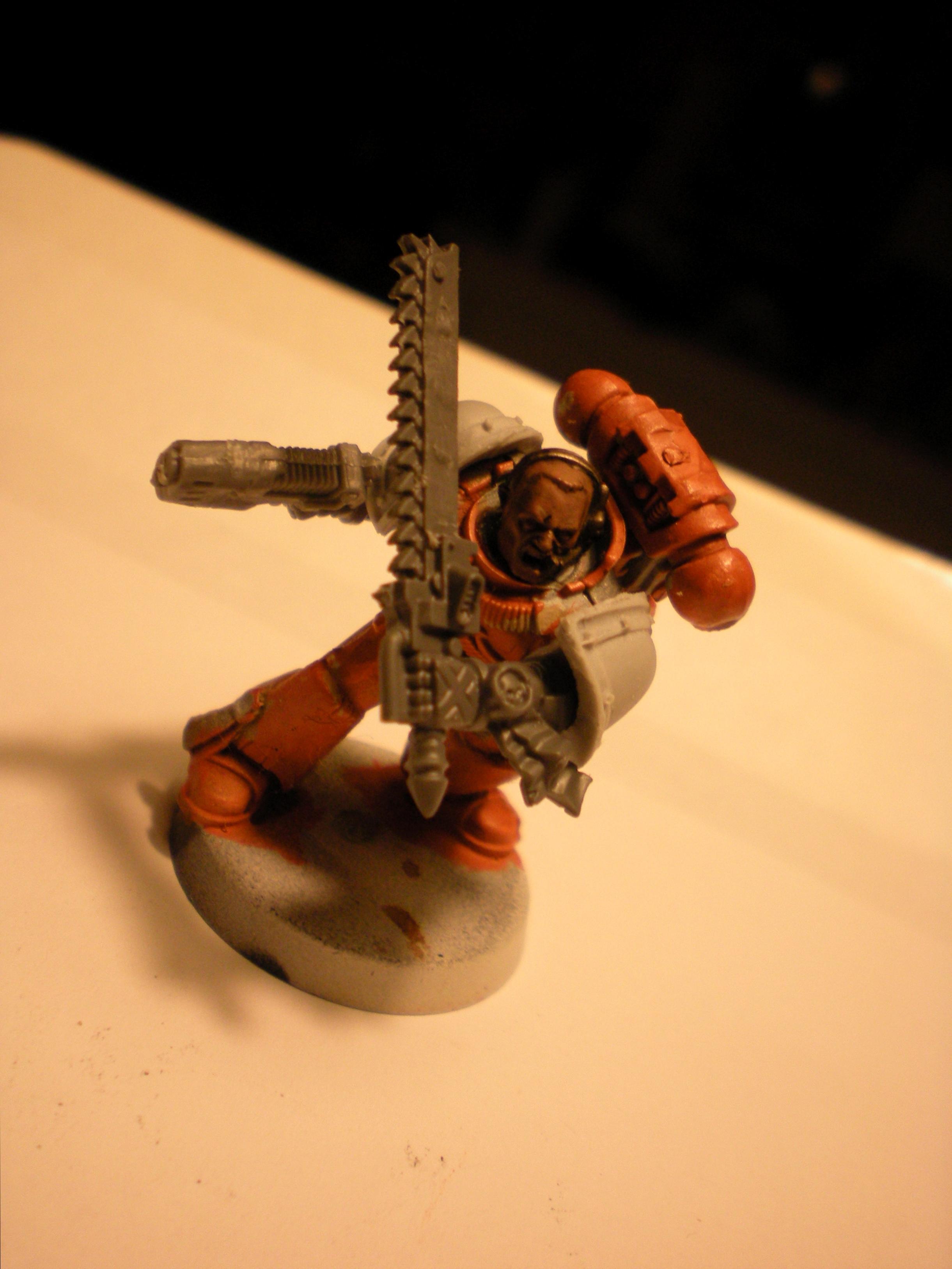 Space Marines, Work In Progress