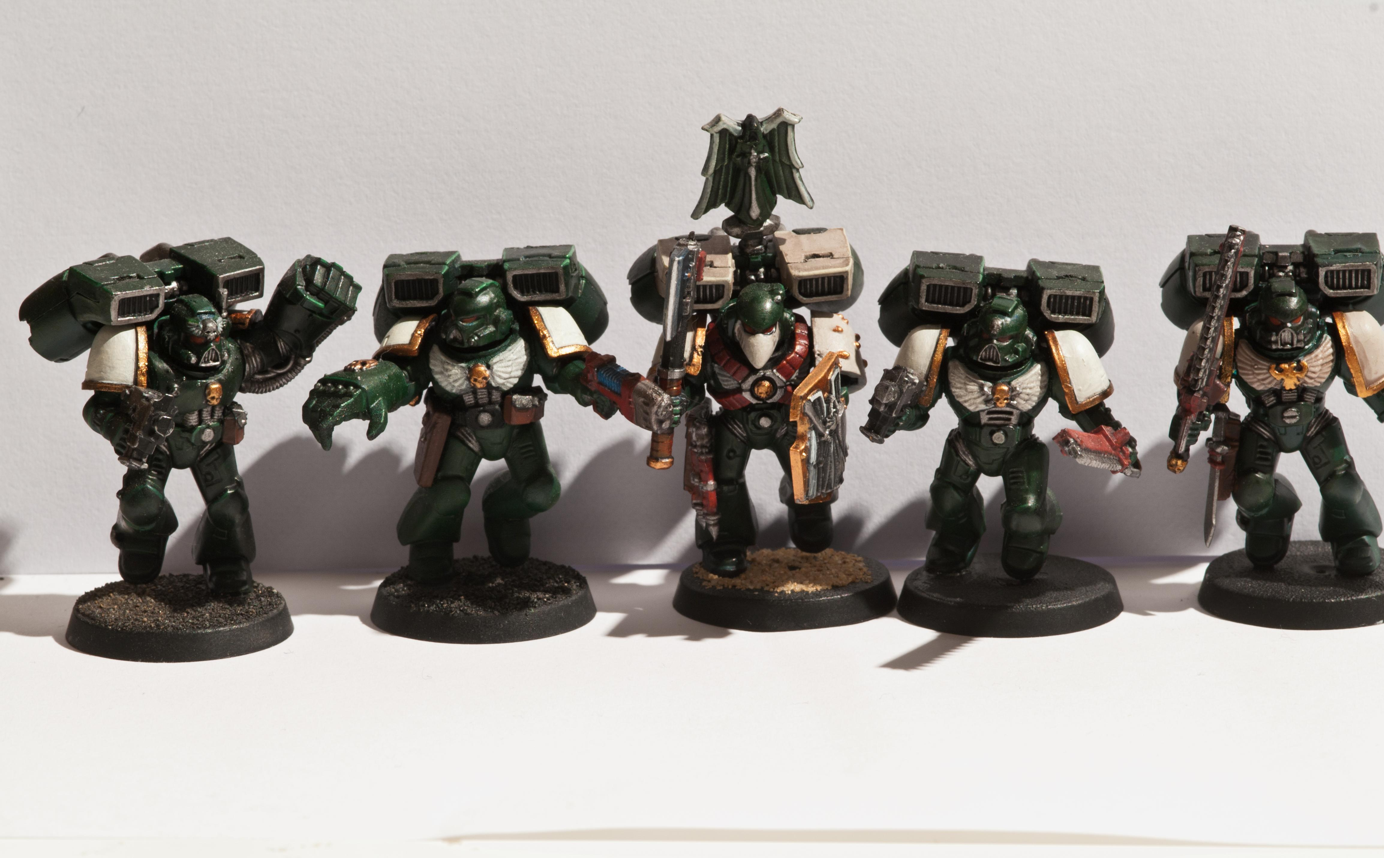 Assault Squad., Dark Angels, Vanguard Veterans
