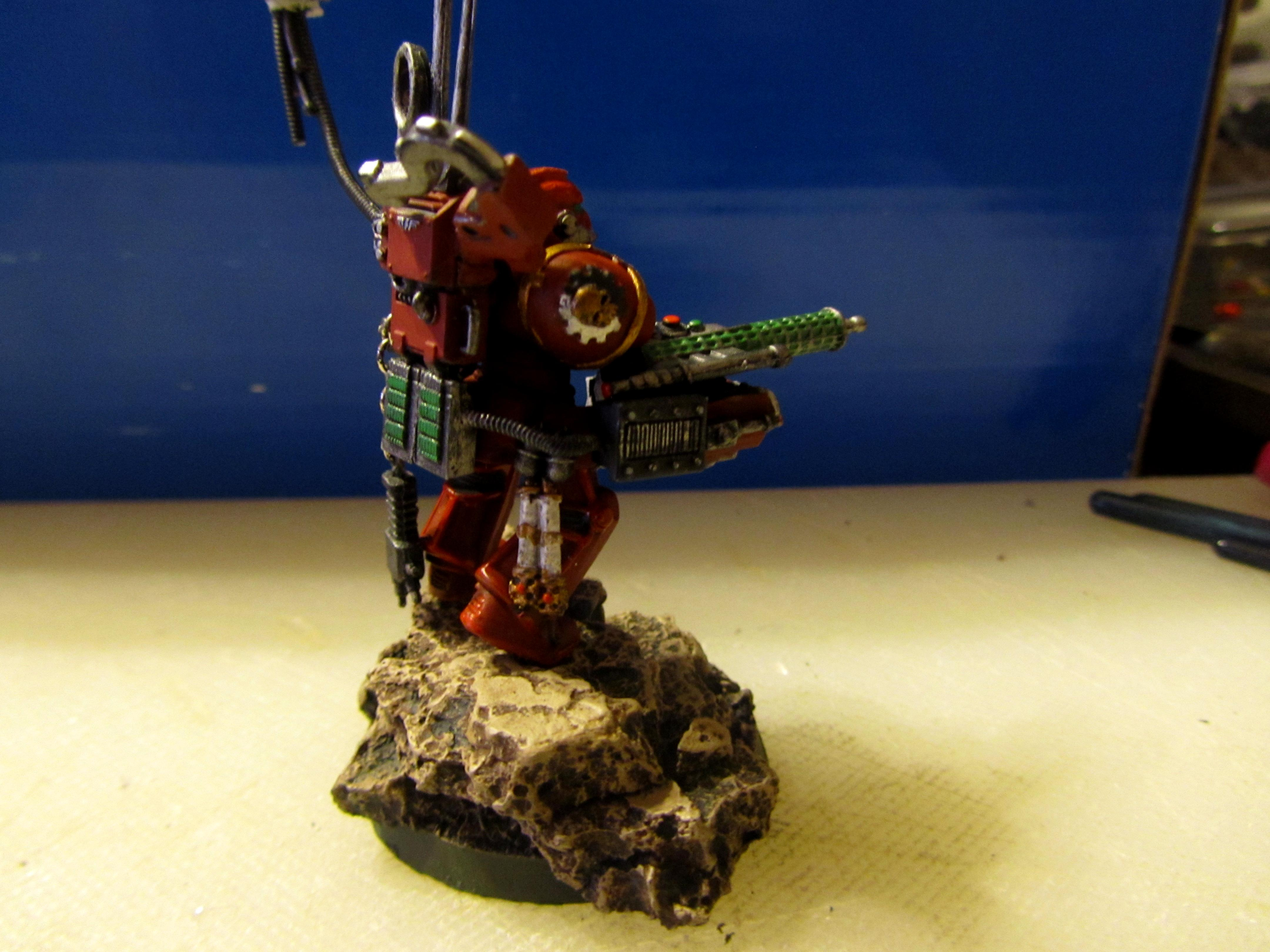 Master Of The Forge, Red Hunters, Space Marines, Tech Marine
