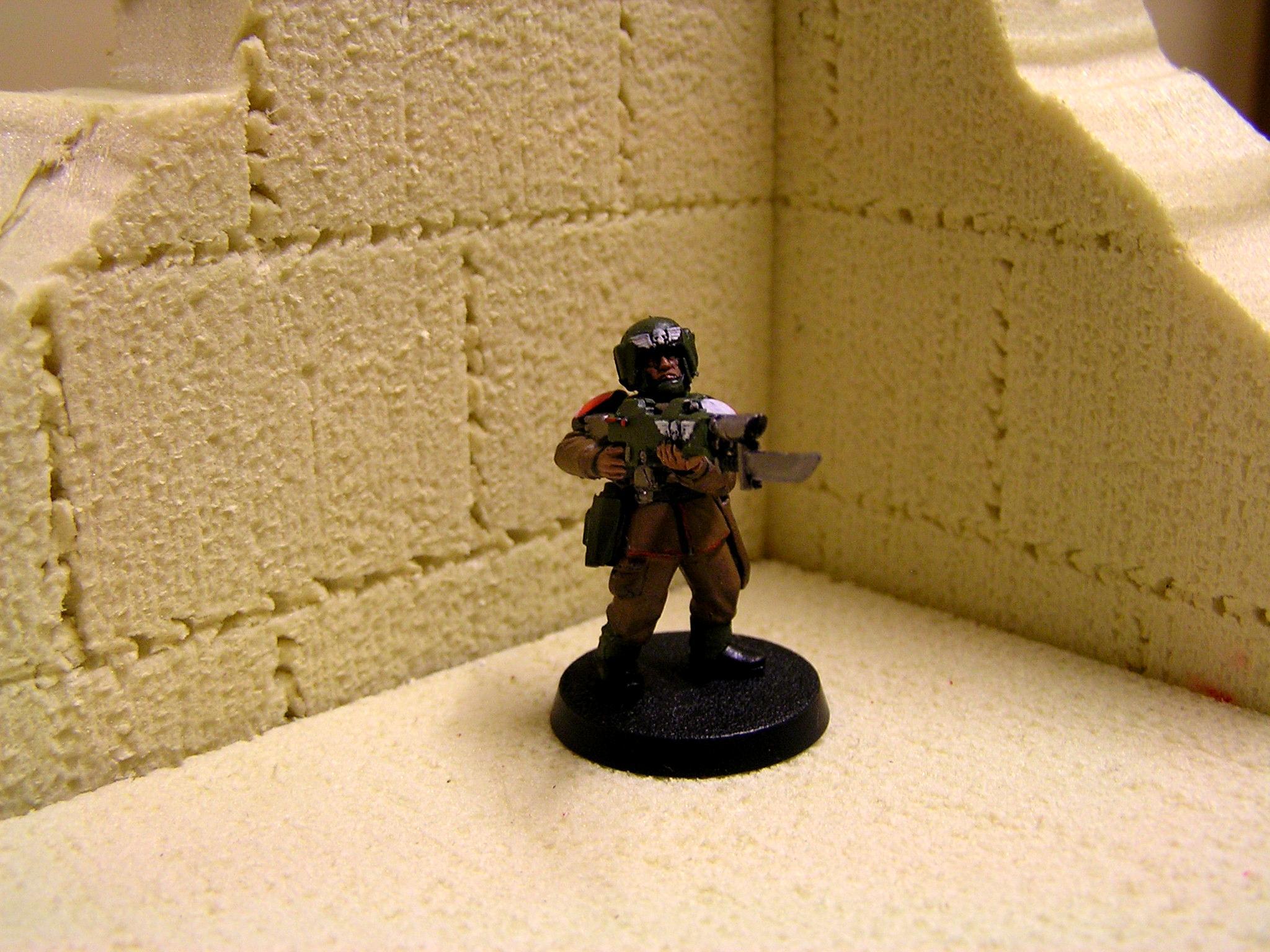 Cadians, Imperial Guard, Platoon Command Squad