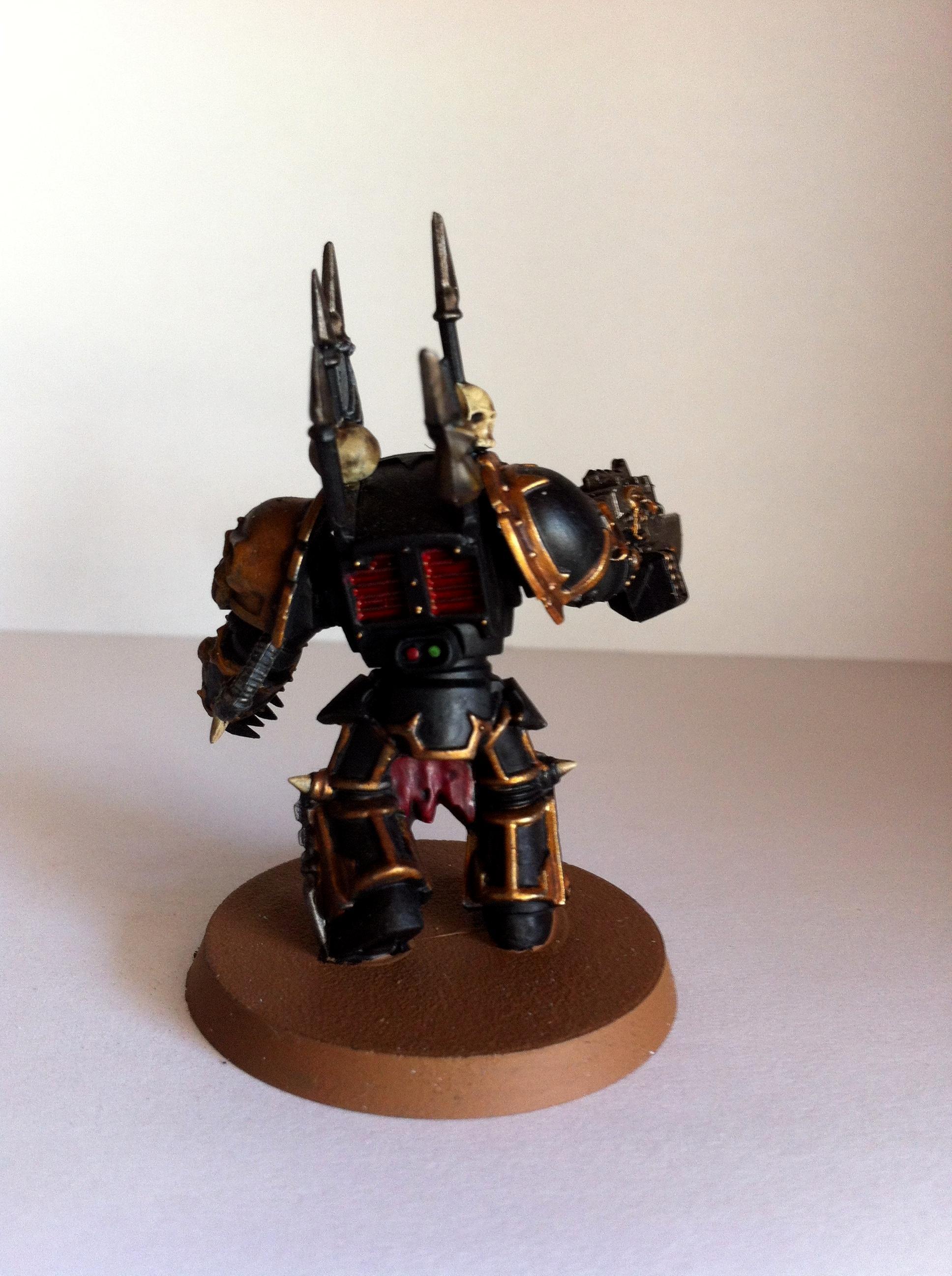 Black Legion Khorne Daemon, Bolter, Chaos, Space Marines