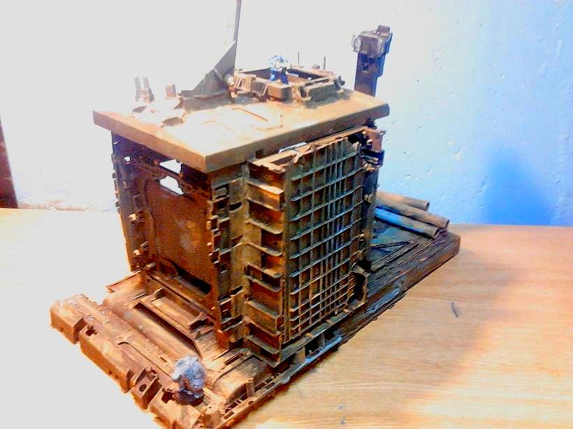 Bastion, Castlle, Conversion, Custom, Do-it-yourself, Game Table, Strong Point