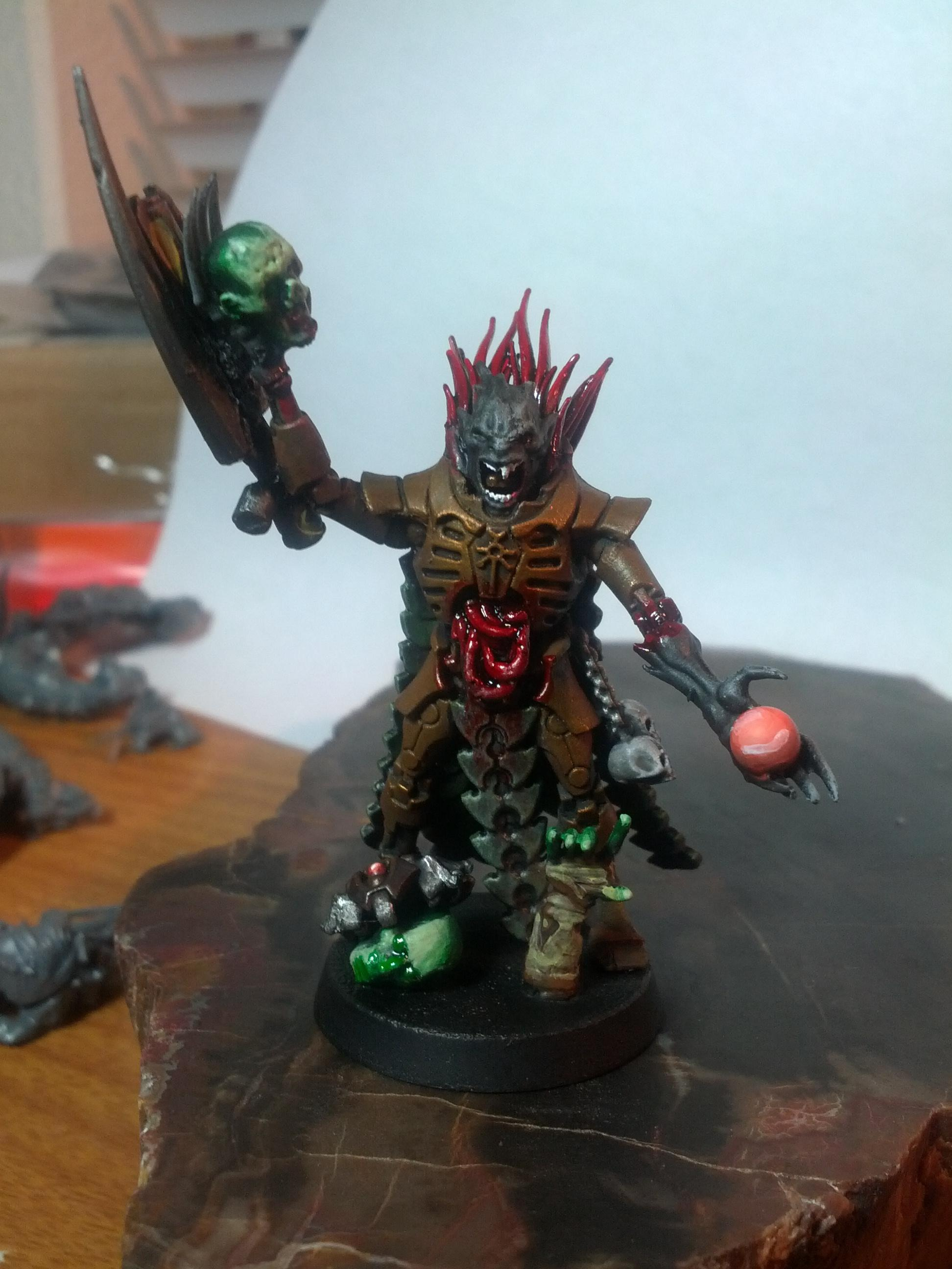 Conversion, Custom, Flayed, Flayed Ones, Necrons, Overlord