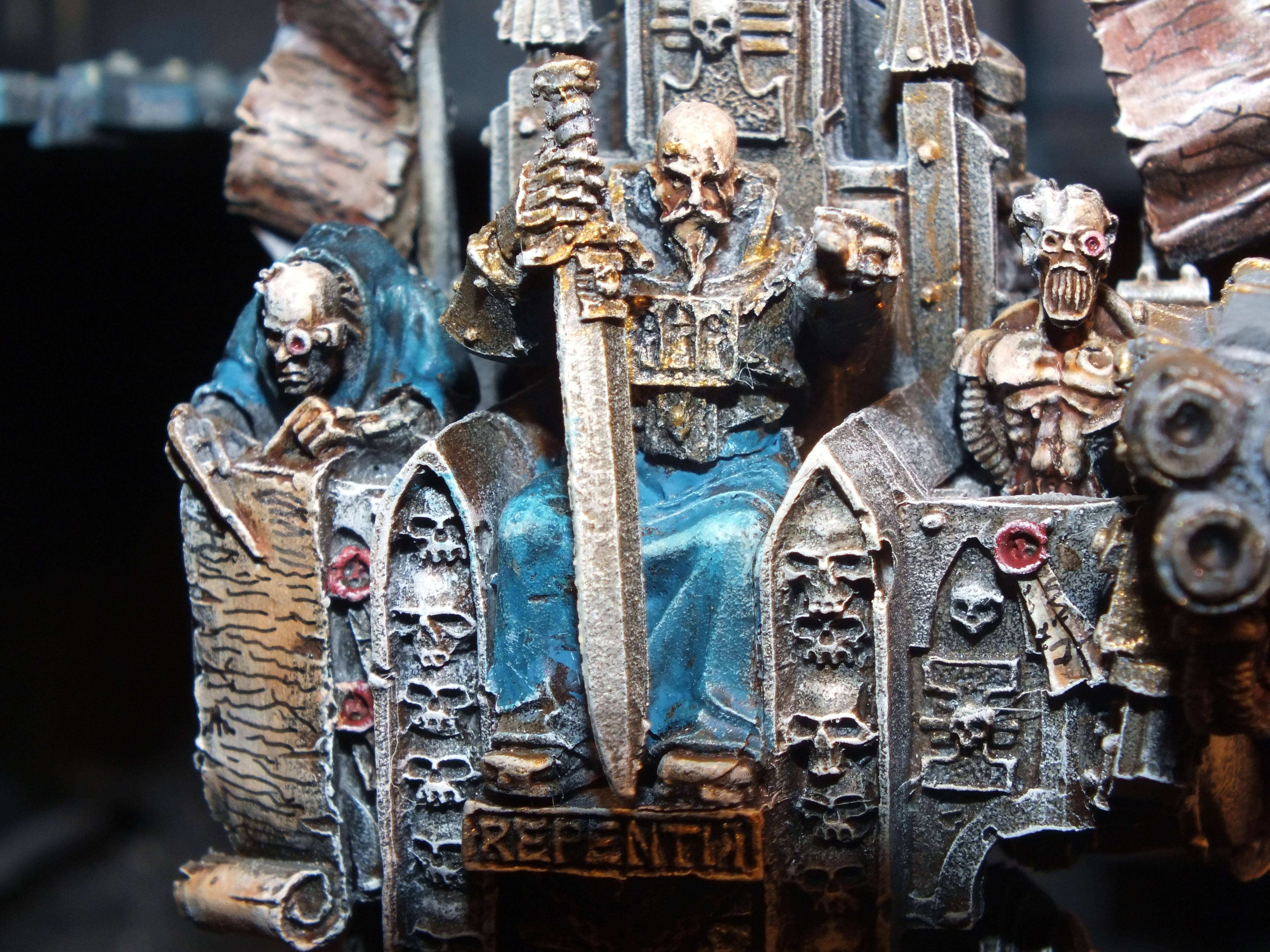 Inquistor, Retinue, Inquisitor Karamazov - detail