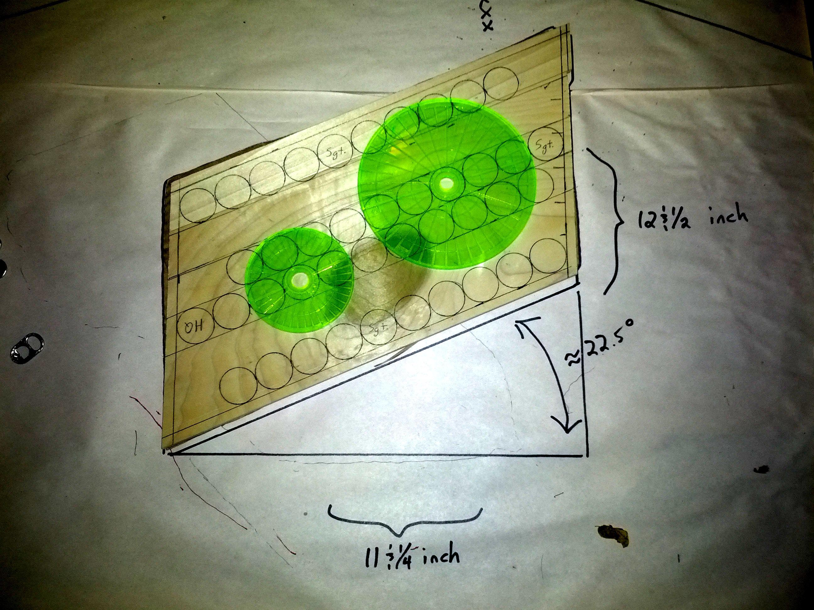 Phalanx Tray Ver. III with blast templates
