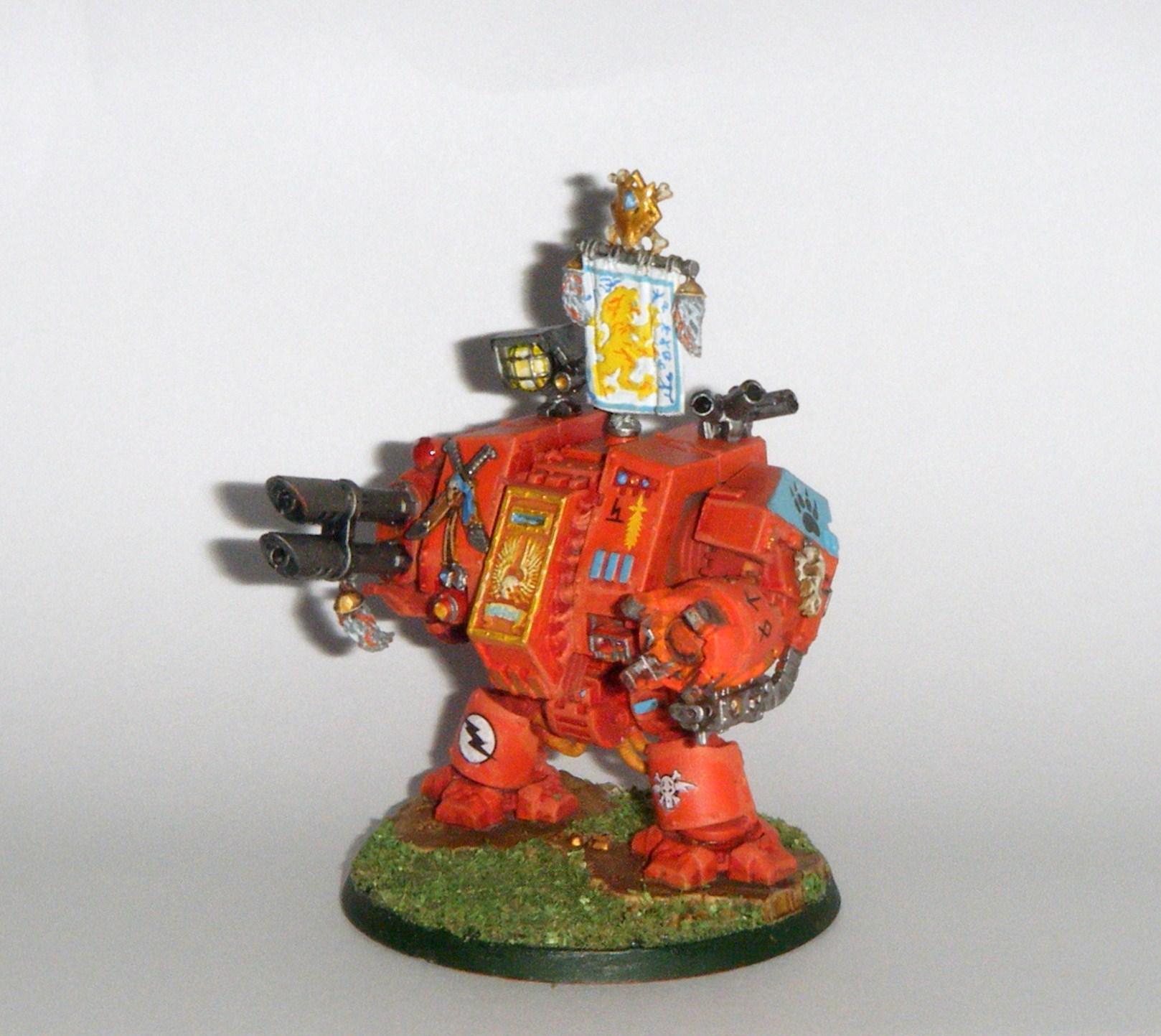 Dreadnought, Electric Wolves, Lascannon, Power Fist