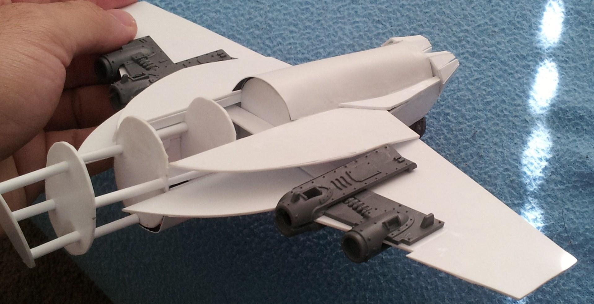 Conversion, Dakka Dakka, Dakkajet, F18, Hornet, Jet, Rhino