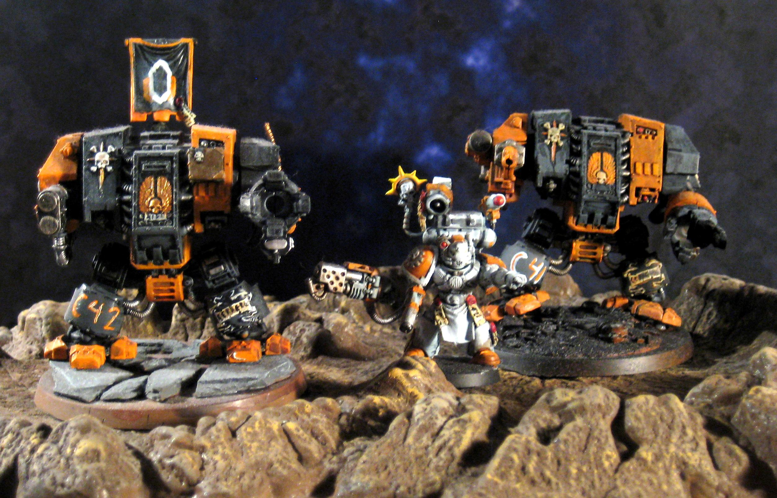 Apothecary, Cerberus, Dreadnought, Mass Effect, Space Marines