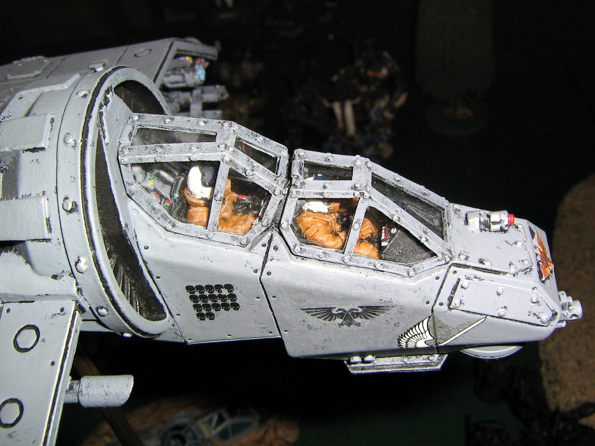 Vulture Gunship Cockpit Detail