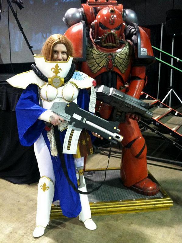 Cosplay, Sisters Of Battle, Warhammer 40,000