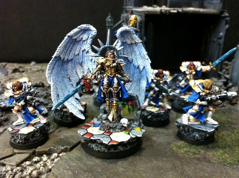 Celestine, Sisters Of Battle, Warhammer 40,000, Warhammer Fantasy