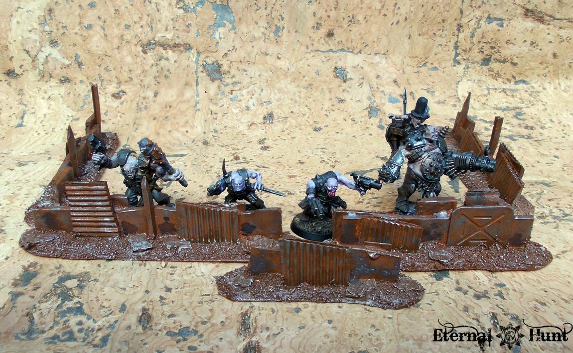 Barricades, Do-it-yourself, Inq28, Inquisitor, Necromunda, Terrain, Wargaming On A Budget, Warhammer 40,000