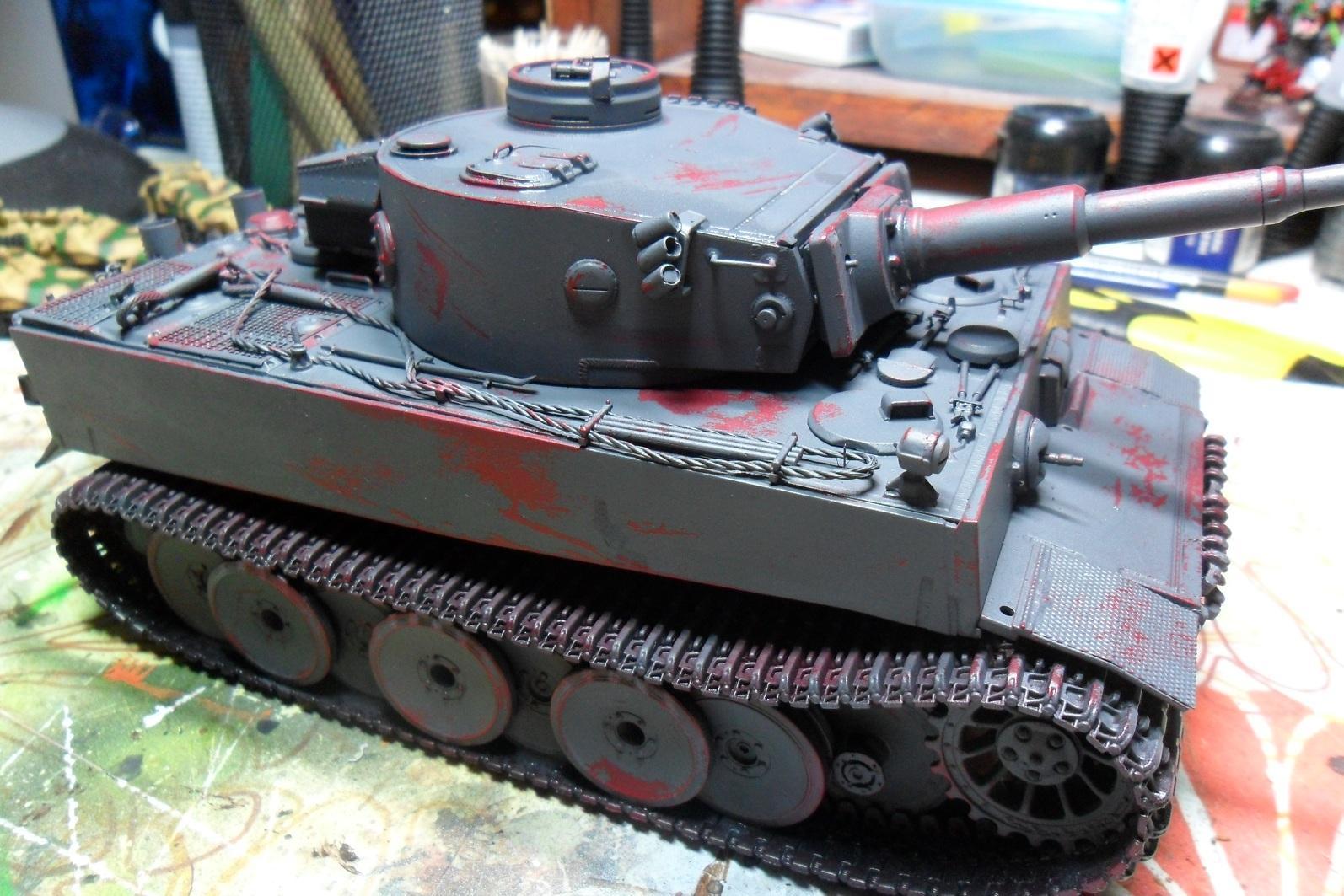Diorama, Historical, Tank, Vehicle, Work In Progress