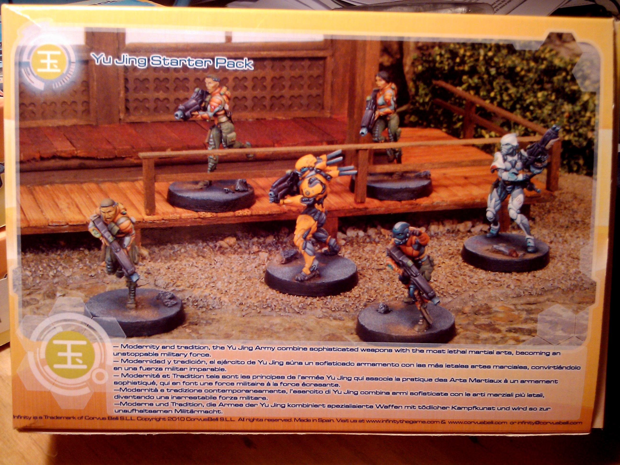 Build, Commission, Corvis Belli, Infinity, Miniature, Yu Jing