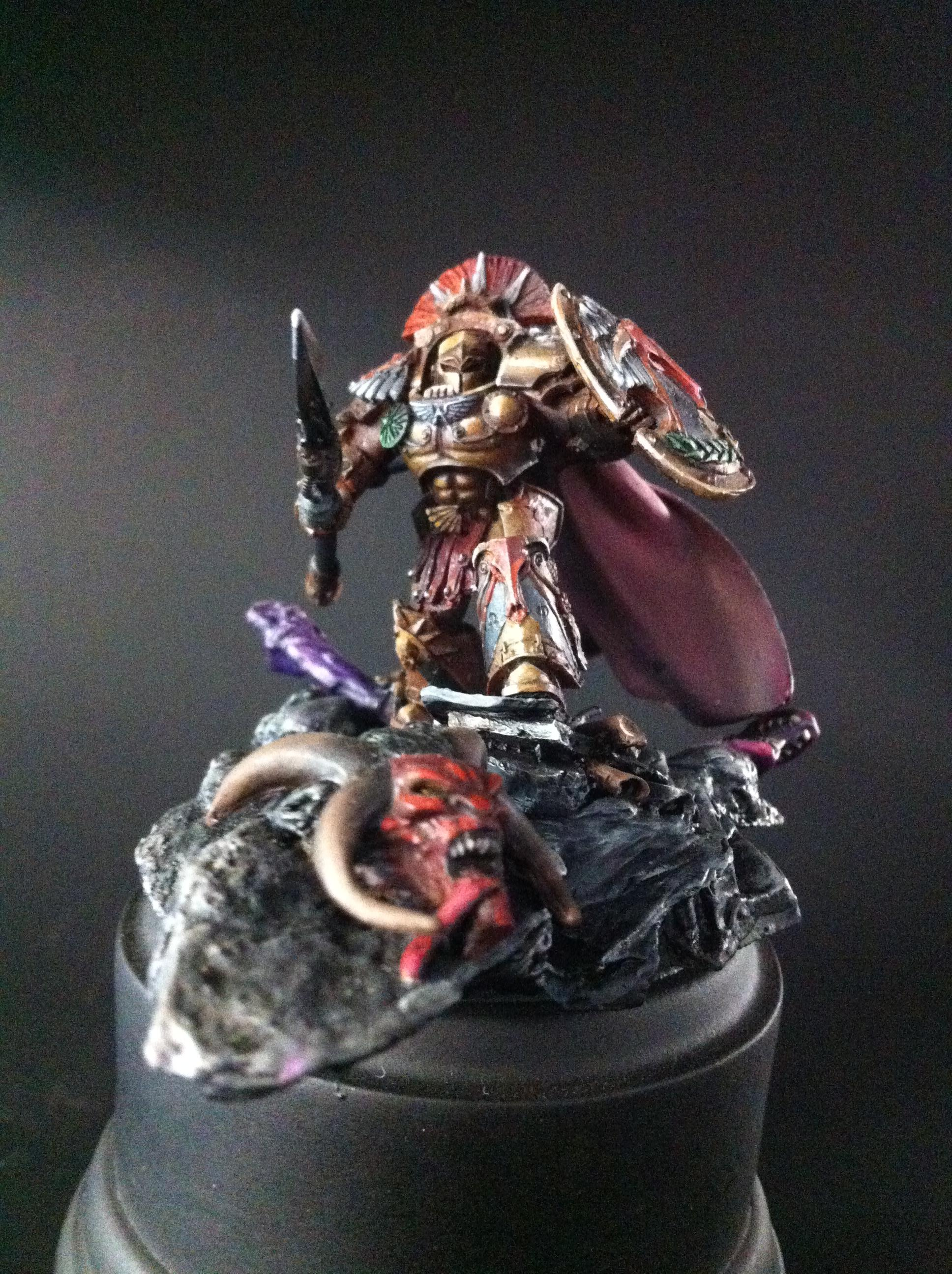 Asterion, Chapter, Master, Minotaurs, Moloc, Space Marines