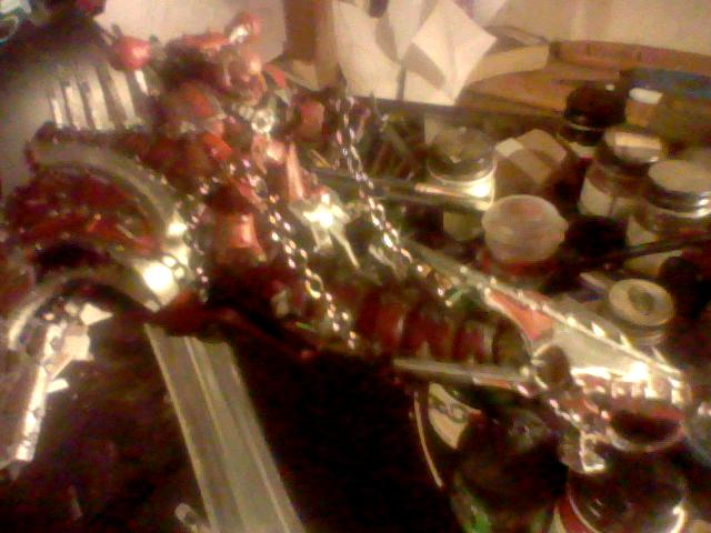 Chaos, Heldrake, Rider, Space, Space Marines, Work In Progress