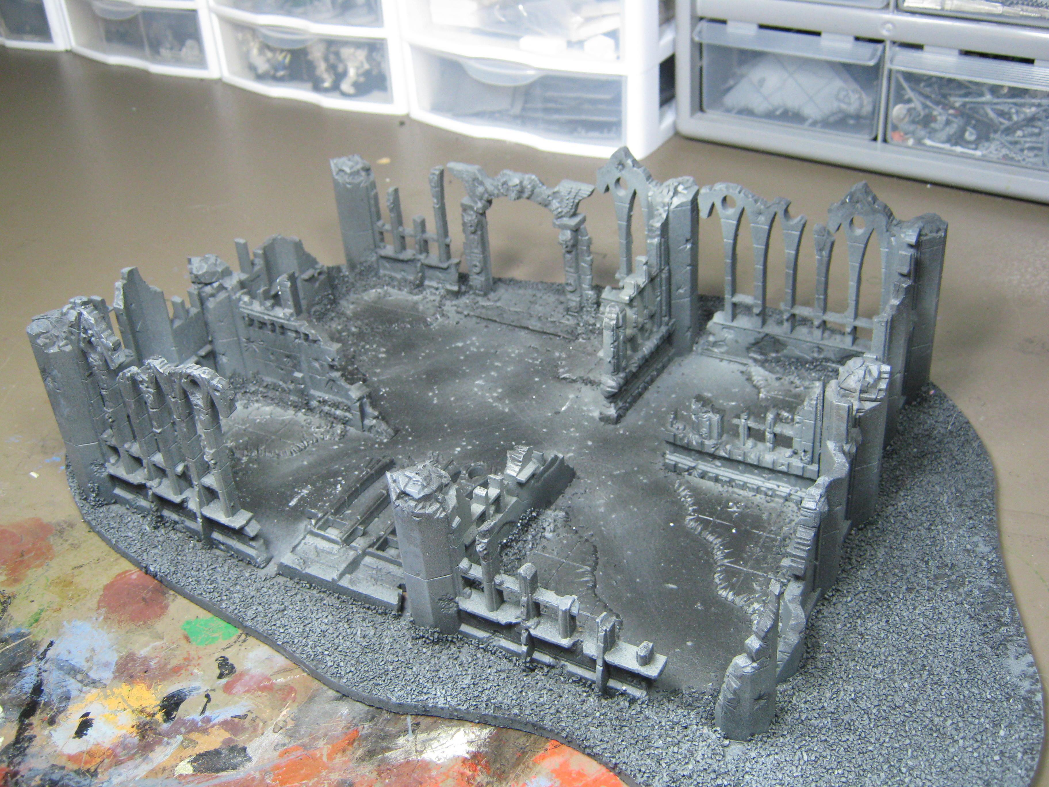 Conversion, Imperial Sector, Pegasus Hobbies, Terrain, Warhammer 40,000