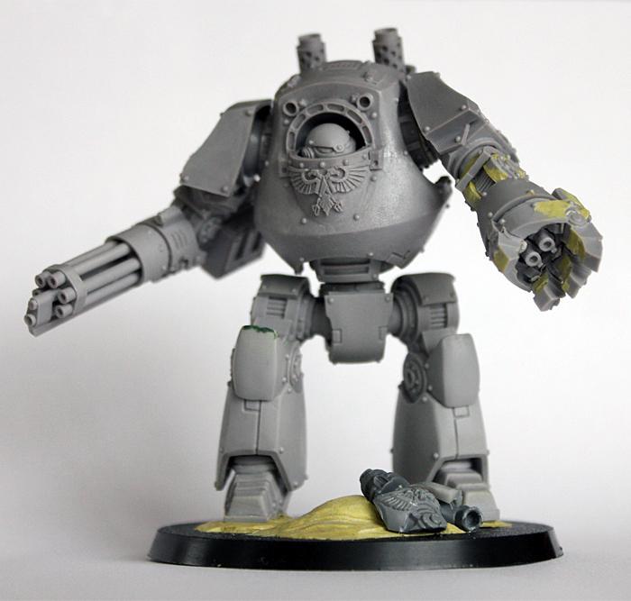 Badab War, Contemptor Dreadnought, Mantis Warriors, Space Marines, Warhammer 40,000