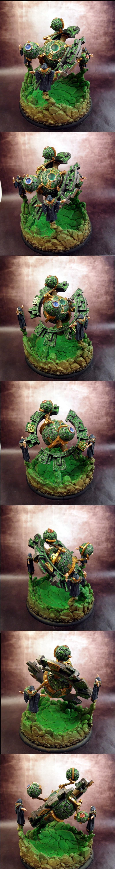 Aosol, Battle Engine, Celestial Fulcrum, Circle Of Orboros, Druids, Green, Hordes, Orboros, Warmachine