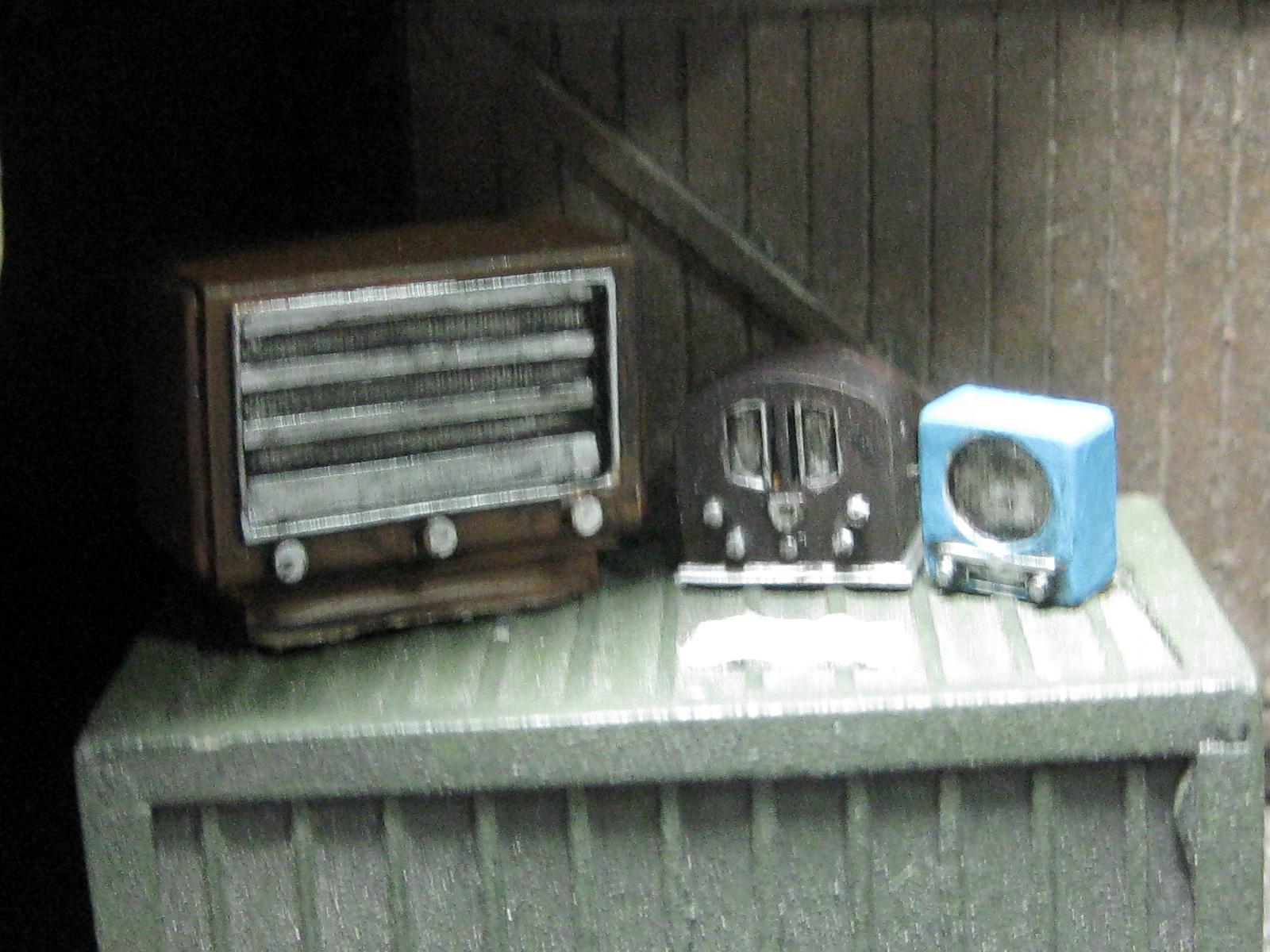 1/35, Old, Radio, 1/35 Old Radios