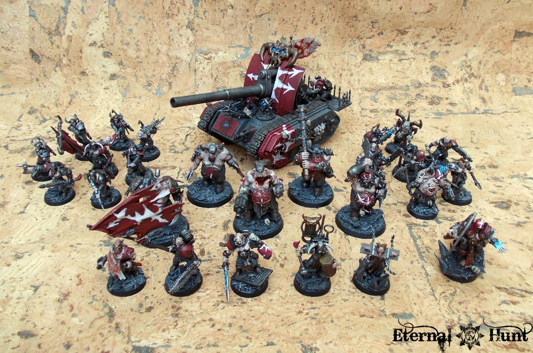Chaos, Conversion, Lntd, Lost And The Damned, Marauders, Paintjob, Renegades, Traitor Guard, Traitor Ig, Warhammer 40,000