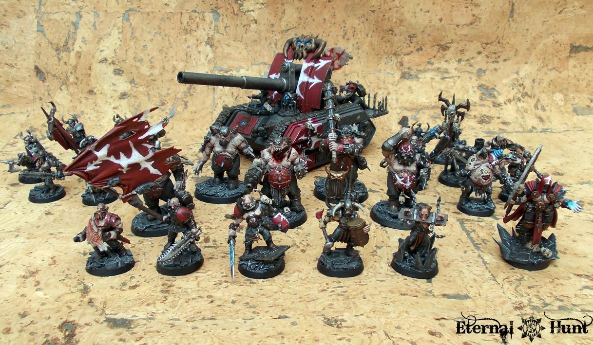Chaos, Conversion, Lntd, Lost And The Damned, Marauders, Paintjob, Renegades, Traitor Guard, Traitor Ig, Warhammer 40,000