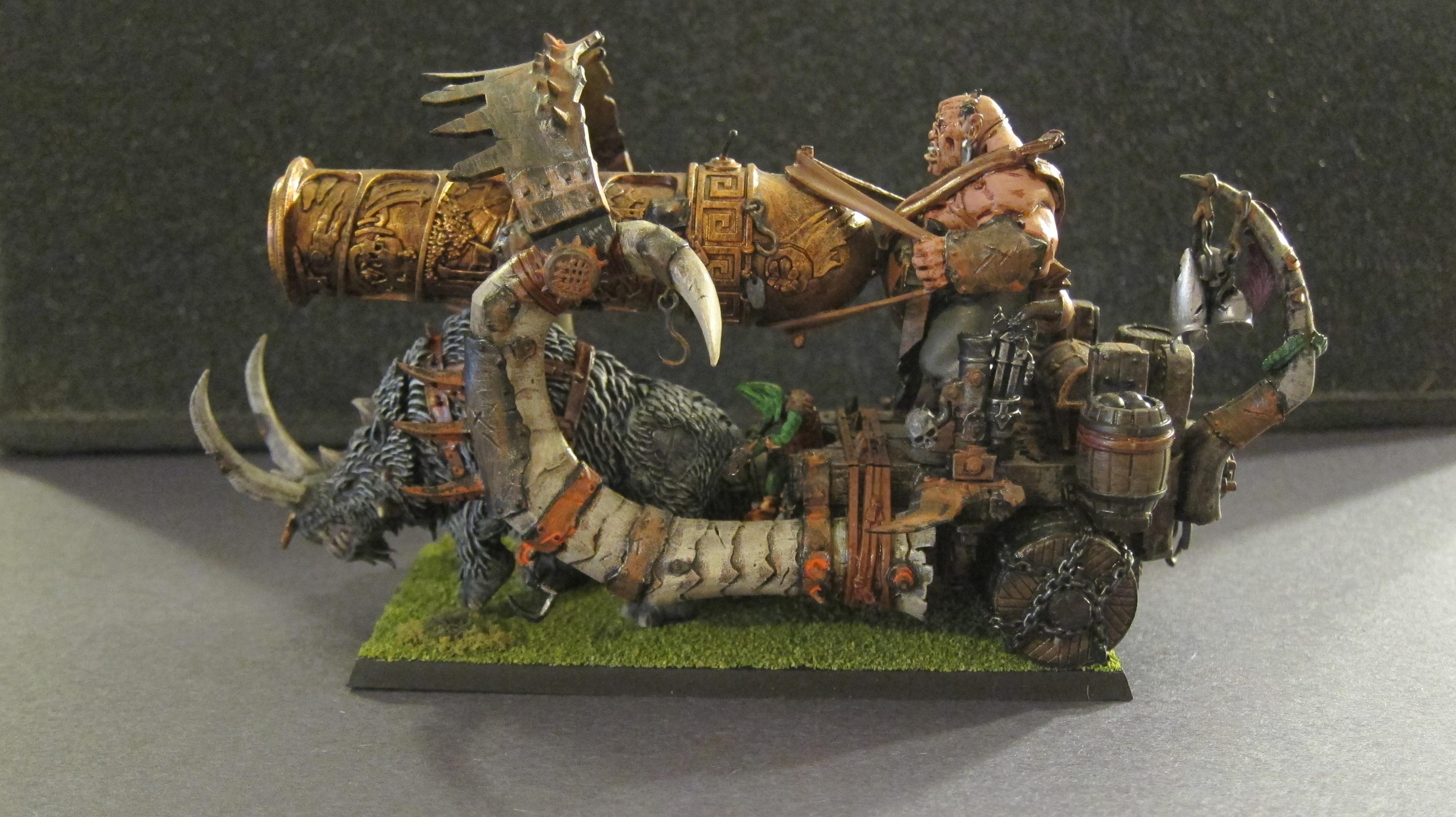 Cannon, Ogre Kingdoms, Warhammer Fantasy